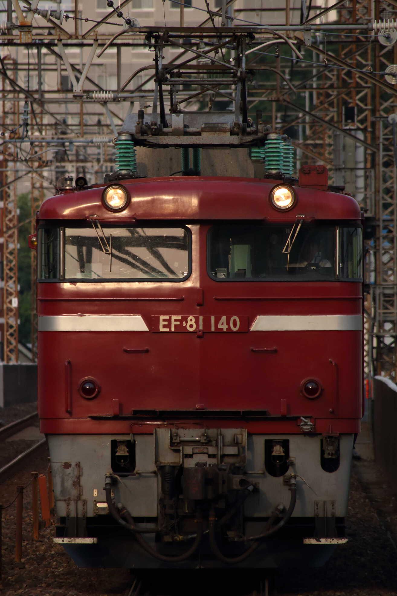 単9751列車 連結訓練返却 EF81-140②[長岡]