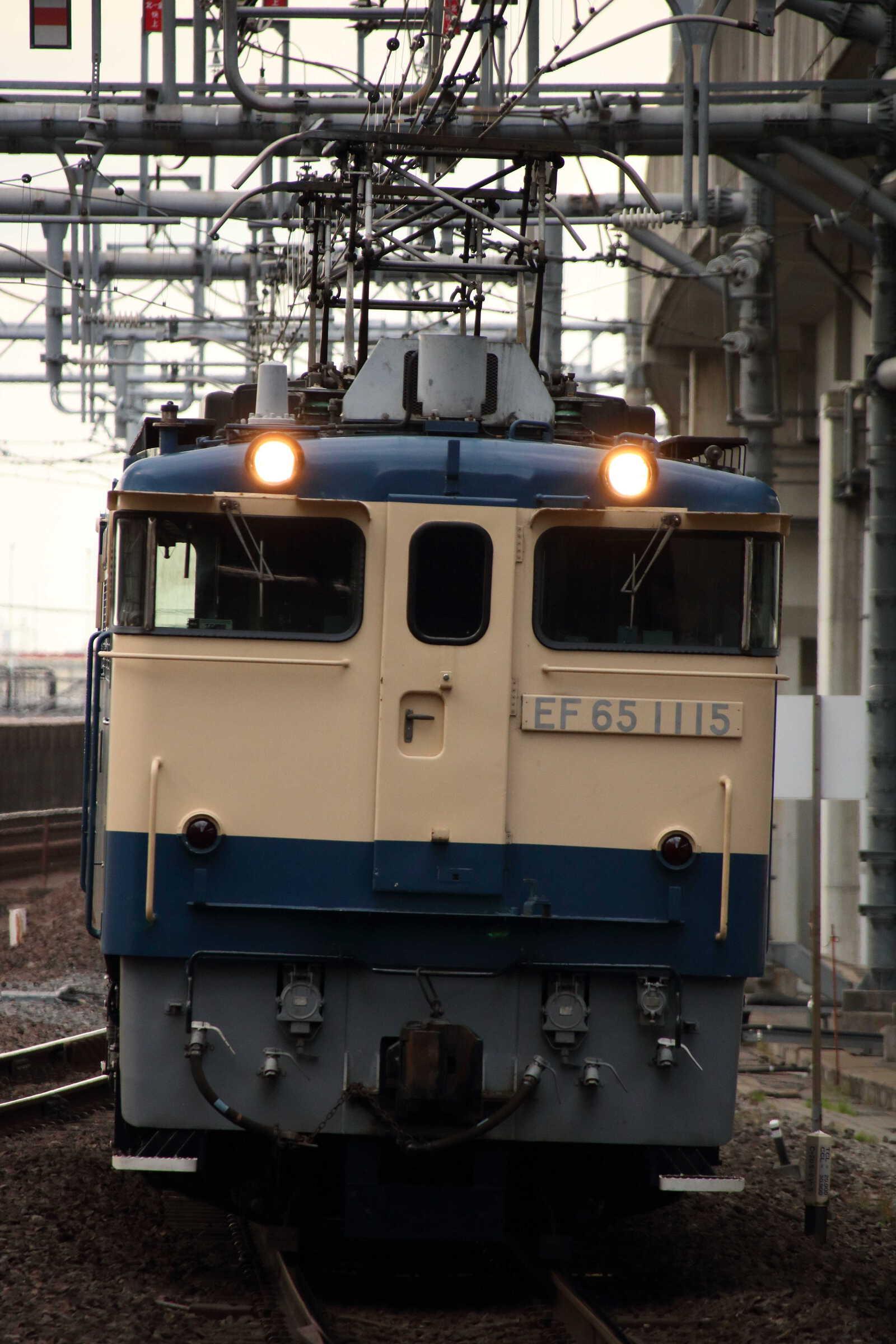 単9492列車 新津工臨返空牽引機返却 EF65-1115②[田]