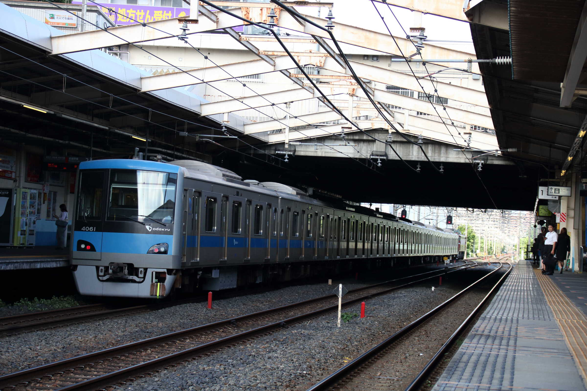 配9542列車 OM出場配給 EF81-139①[田]+小田急4000形 4061×10