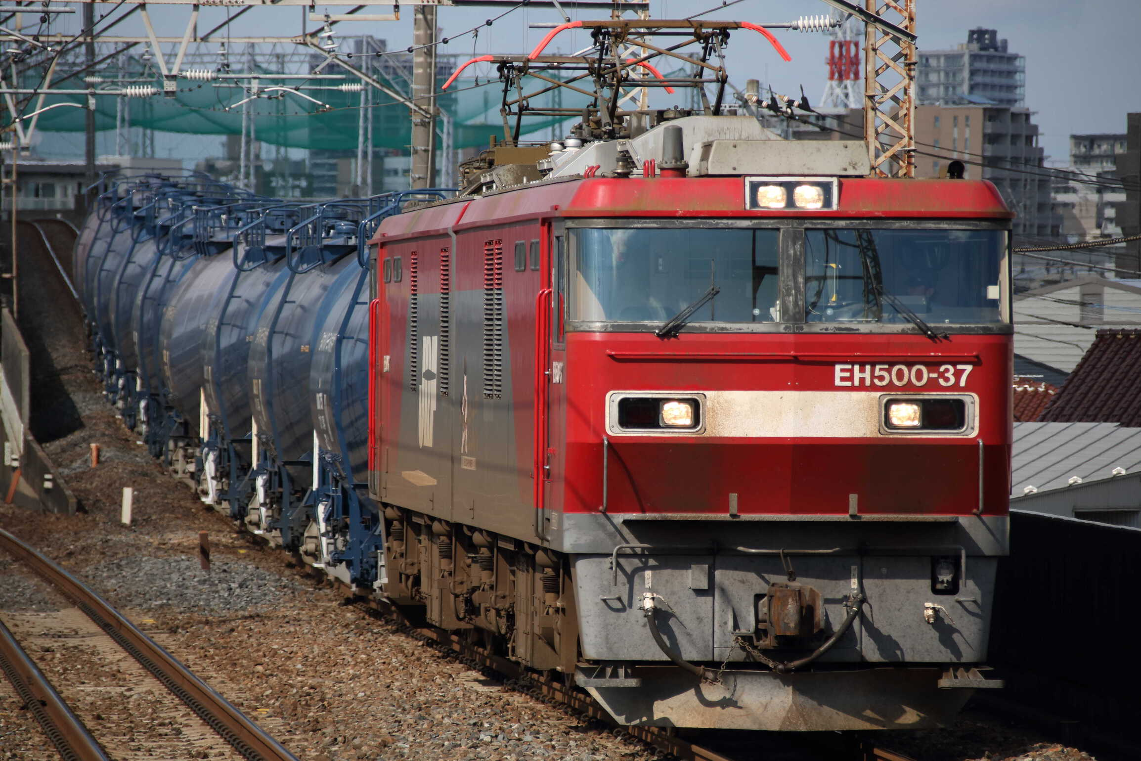 8072列車 EH500-37②[仙貨]+タキ