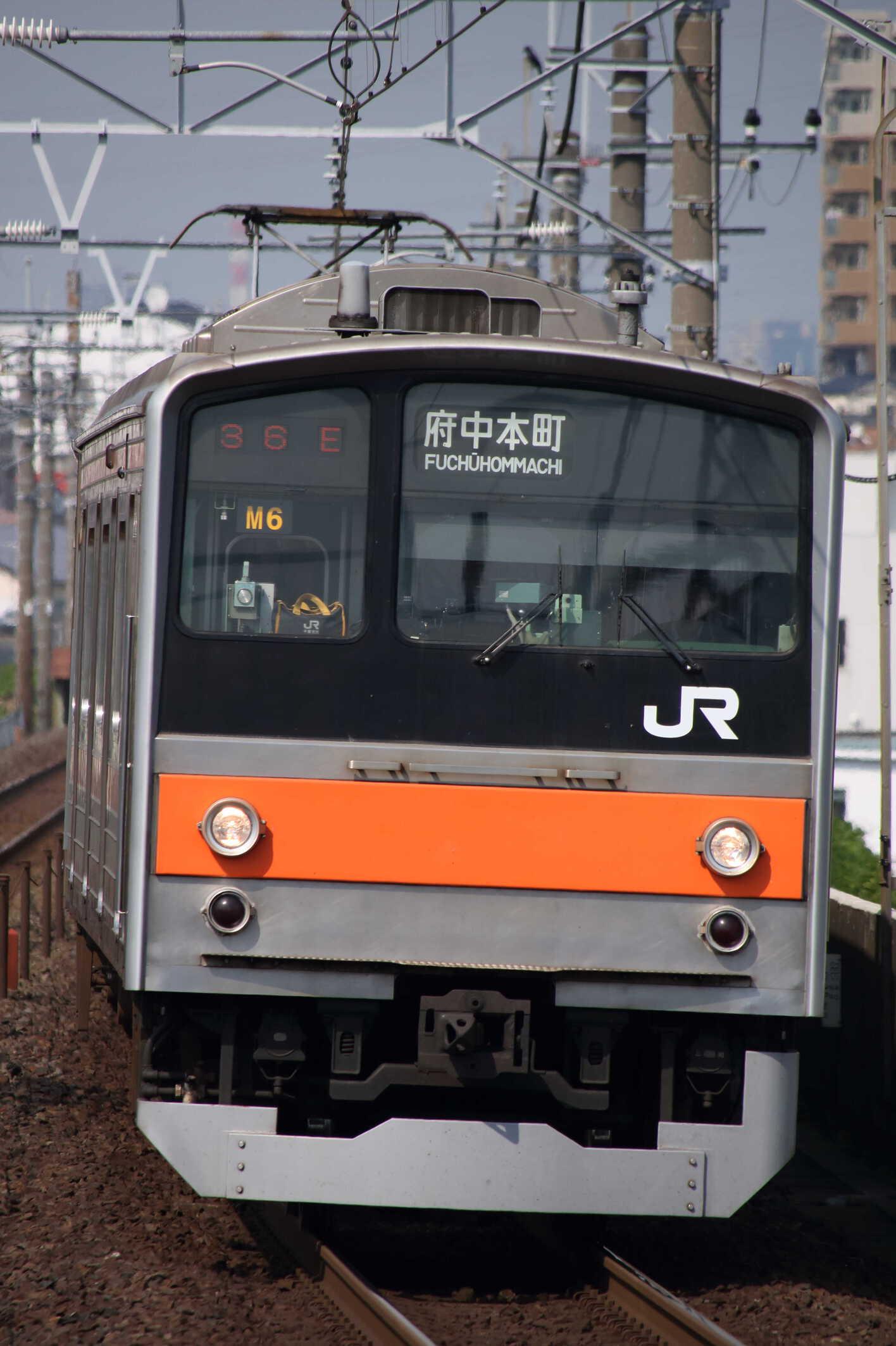 1336E 205系 千ケヨM6編成