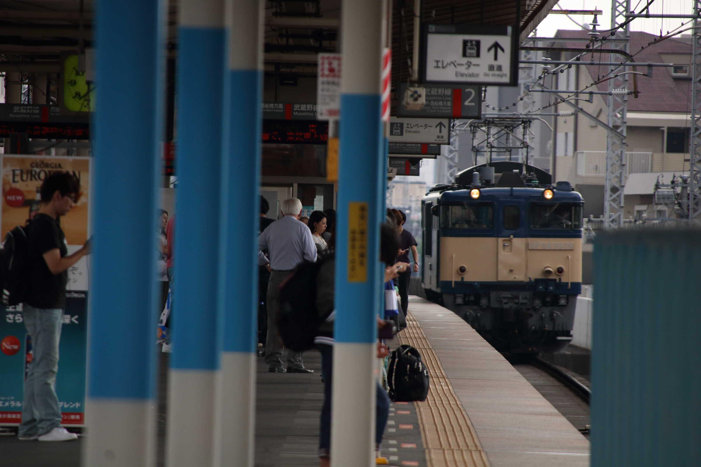 単9565列車 長野配給牽引機返却 EF64-1030(ナカ方②)