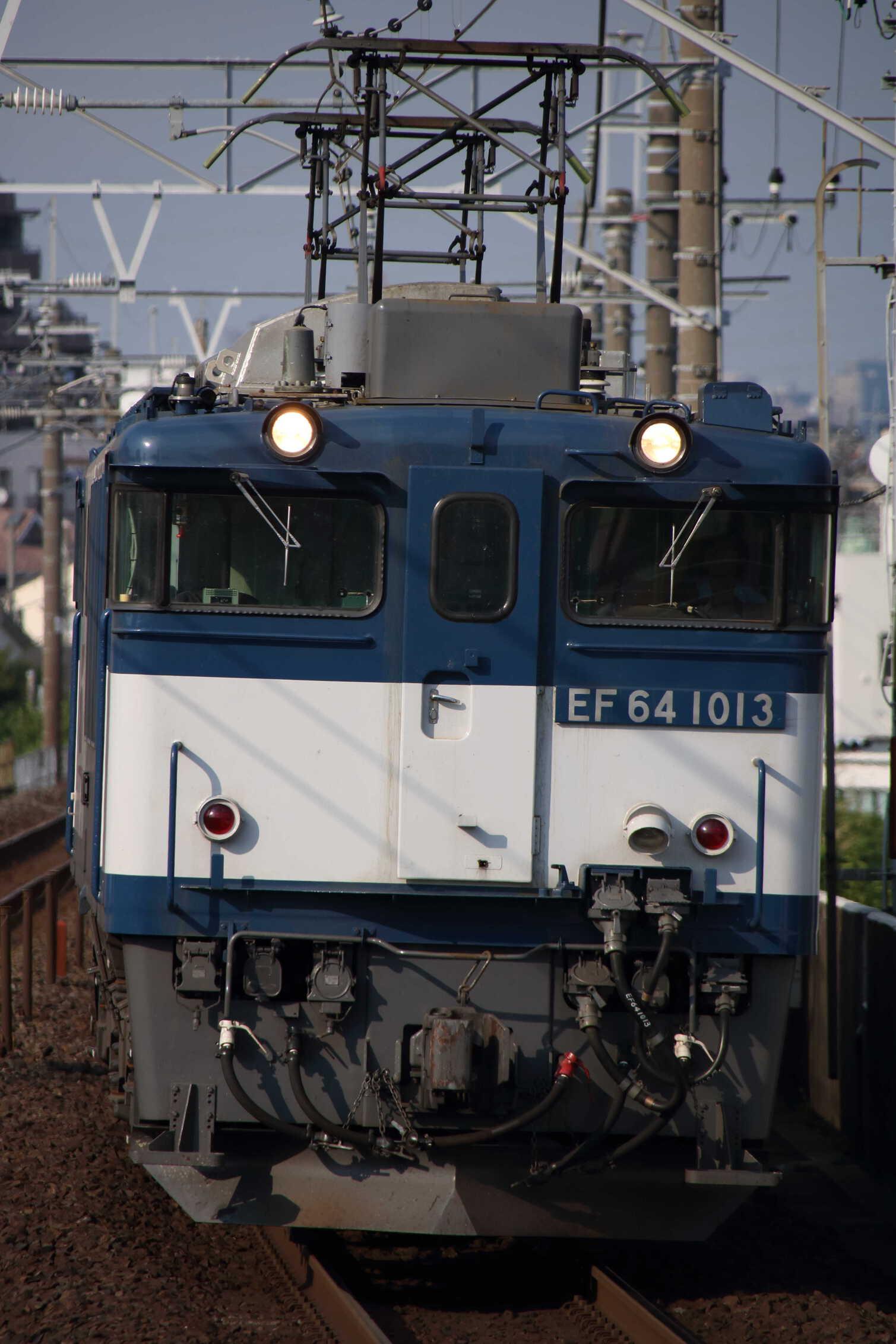 1094列車 EF64-1013①[愛]+コキ