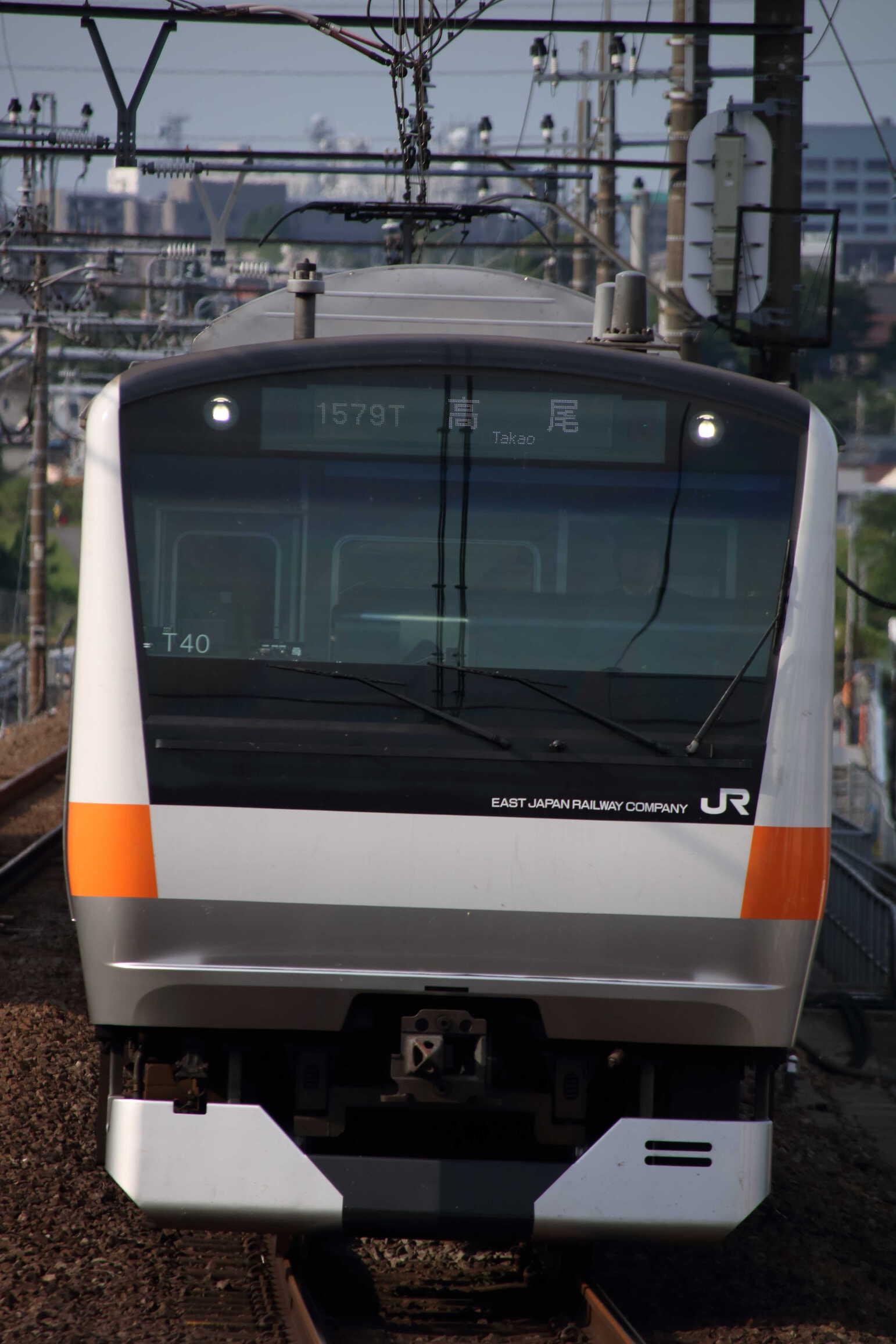 1579T E233系 八トタT40編成