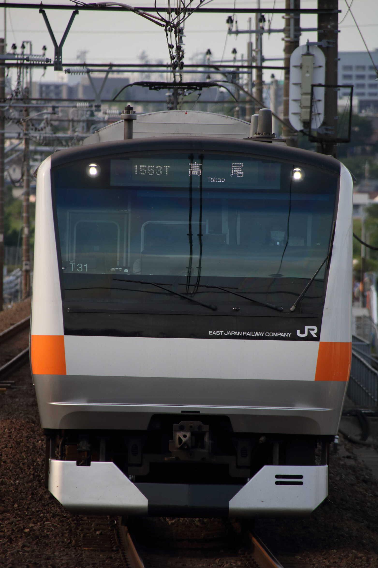 1553T E233系 八トタT31編成
