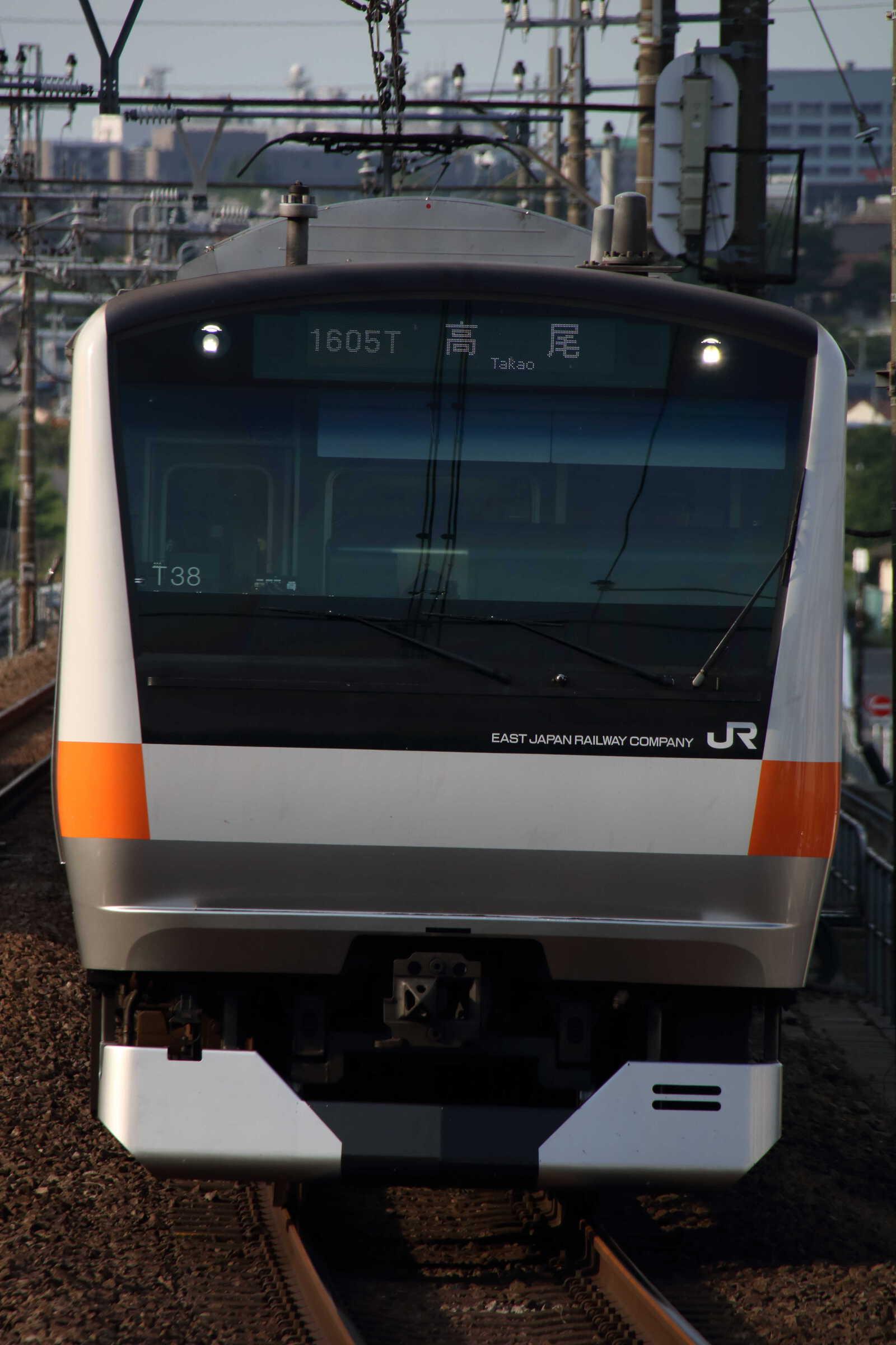 1605T E233系 八トタT38編成