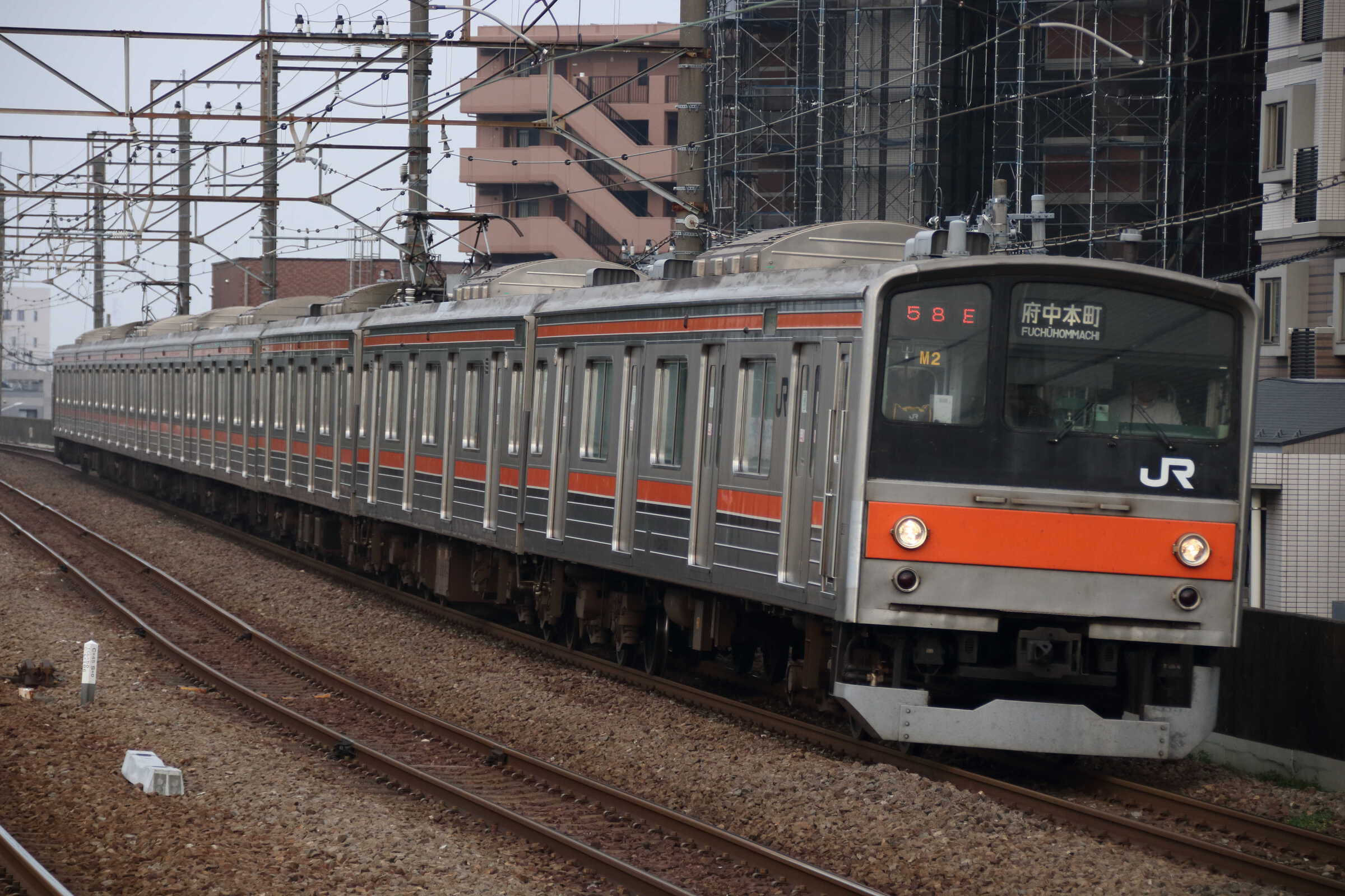 1658E 205系 千ケヨM2編成