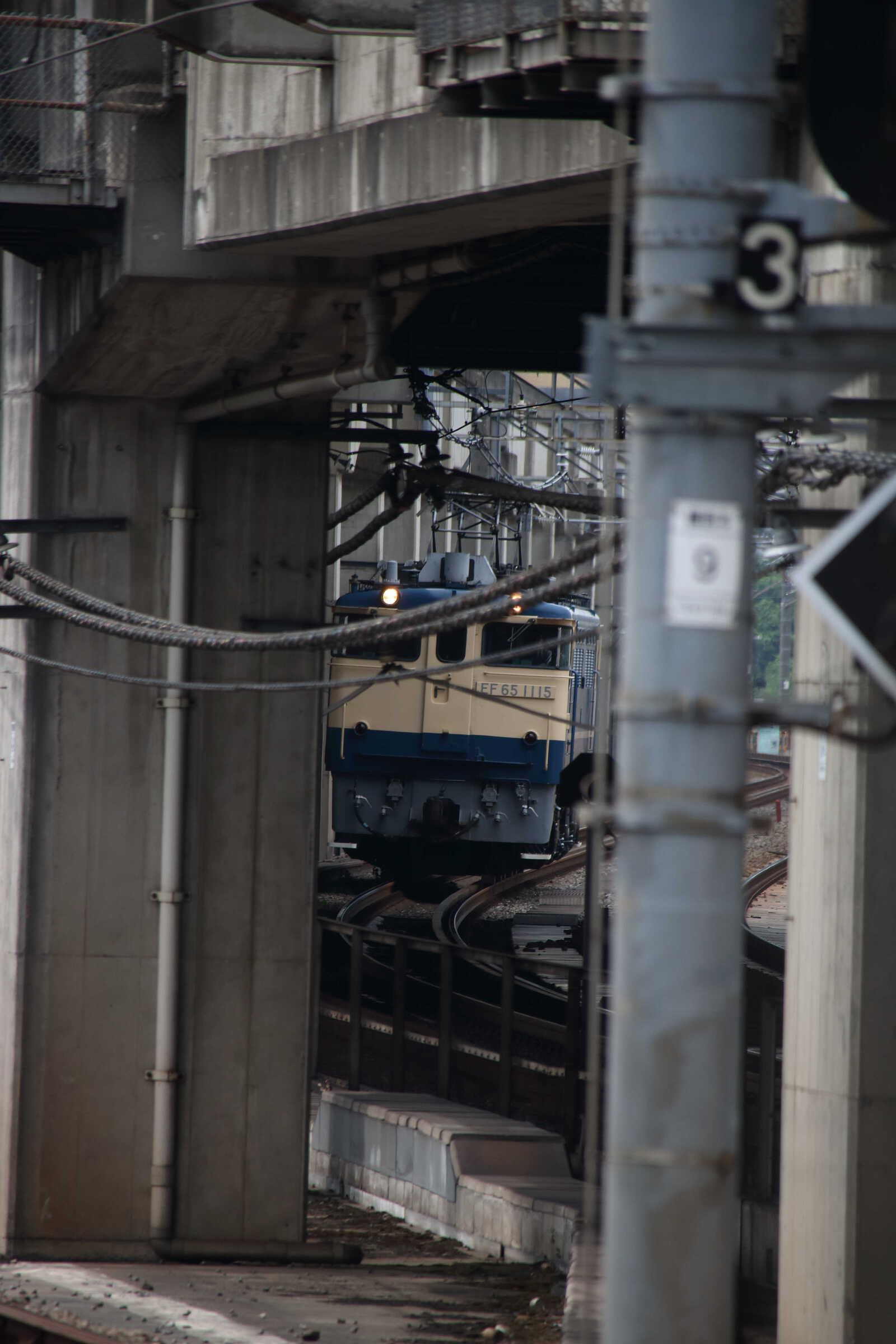 単9563列車 東鷲宮送り込み EF65-1115②