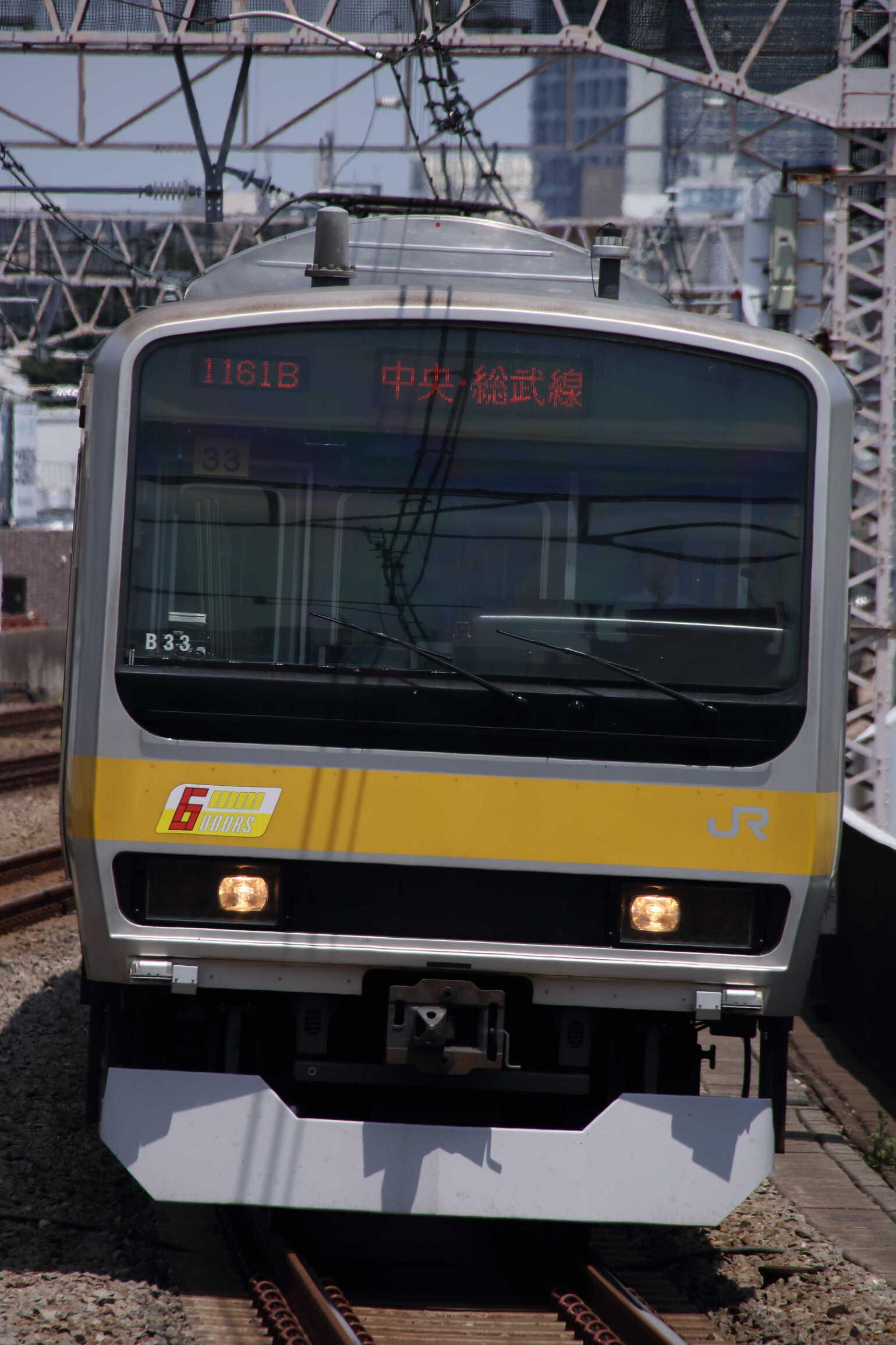 1161B E231系 八ミツB33編成