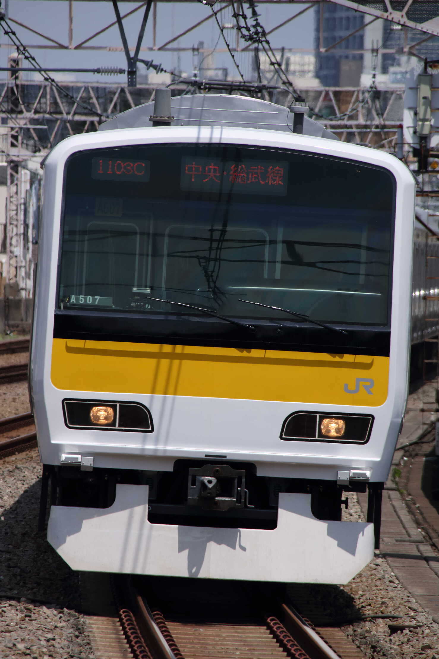 1103C E231系 八ミツA507編成