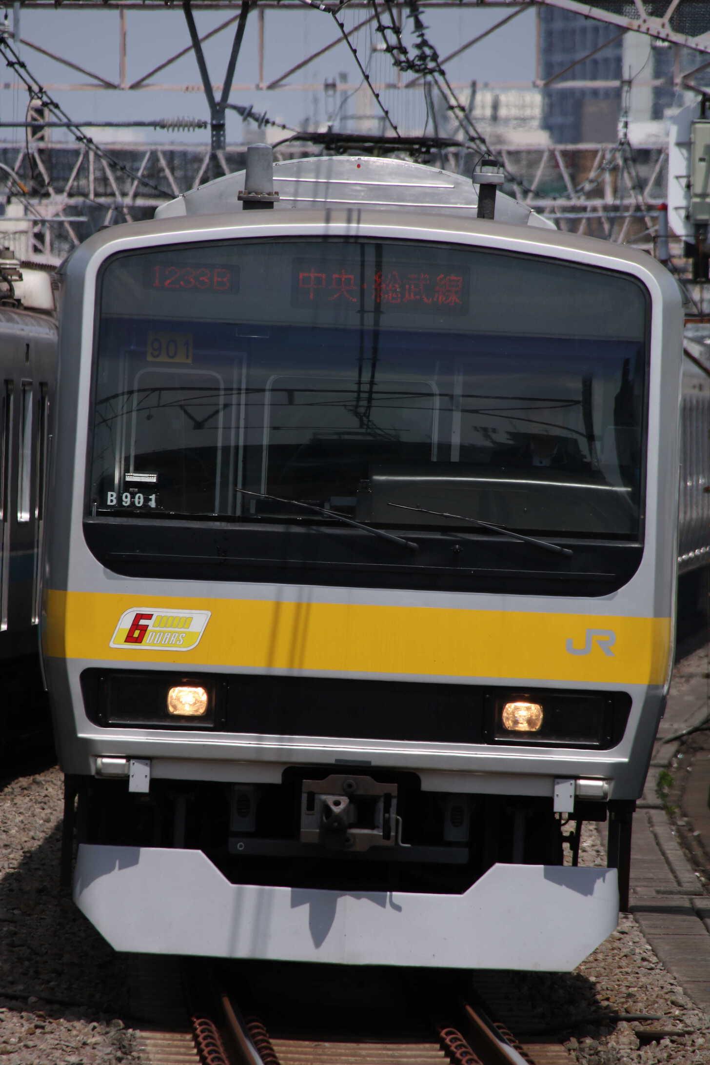 1233B E231系 八ミツB901編成