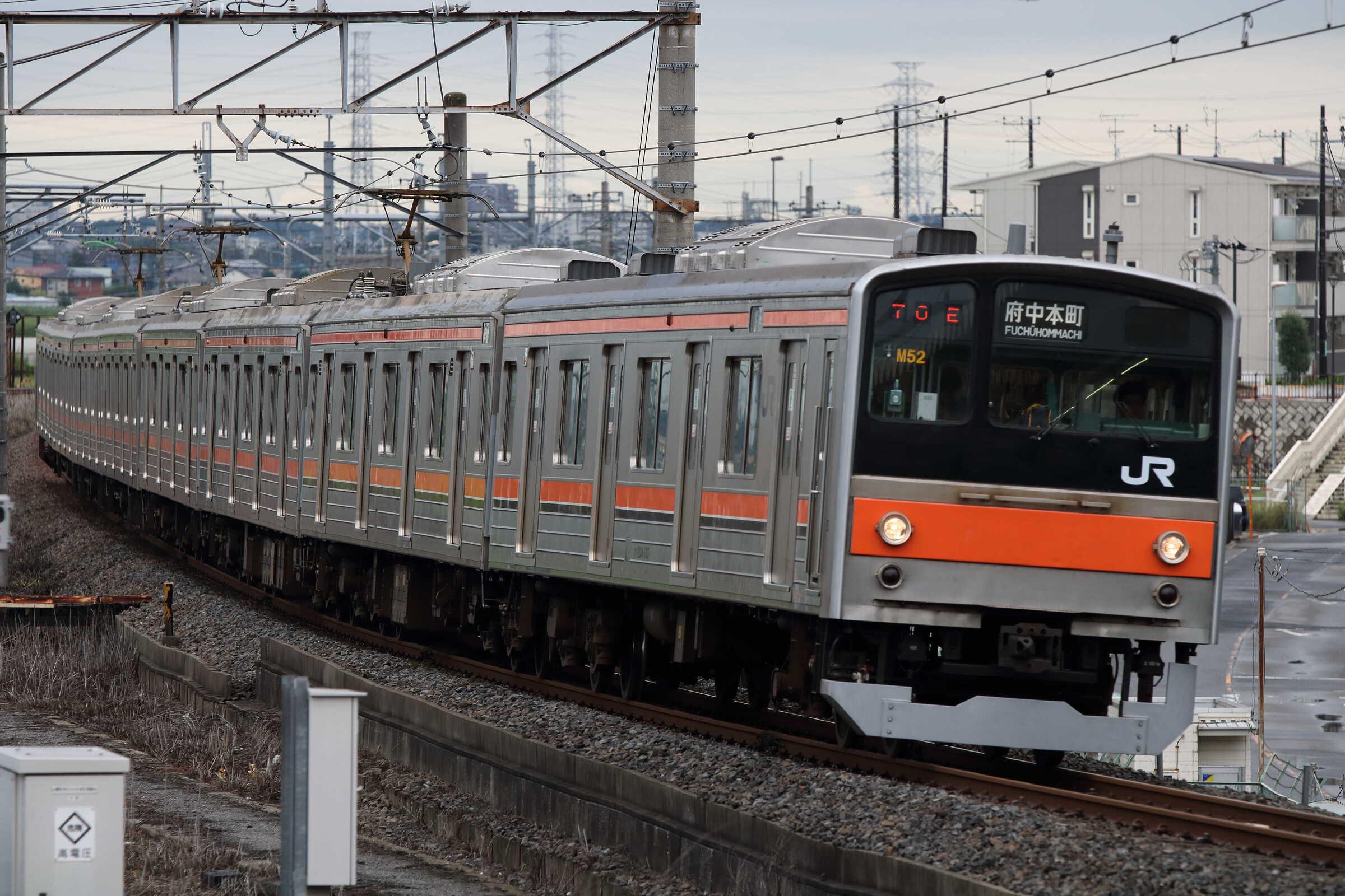 1370E 205系 千ケヨM52編成