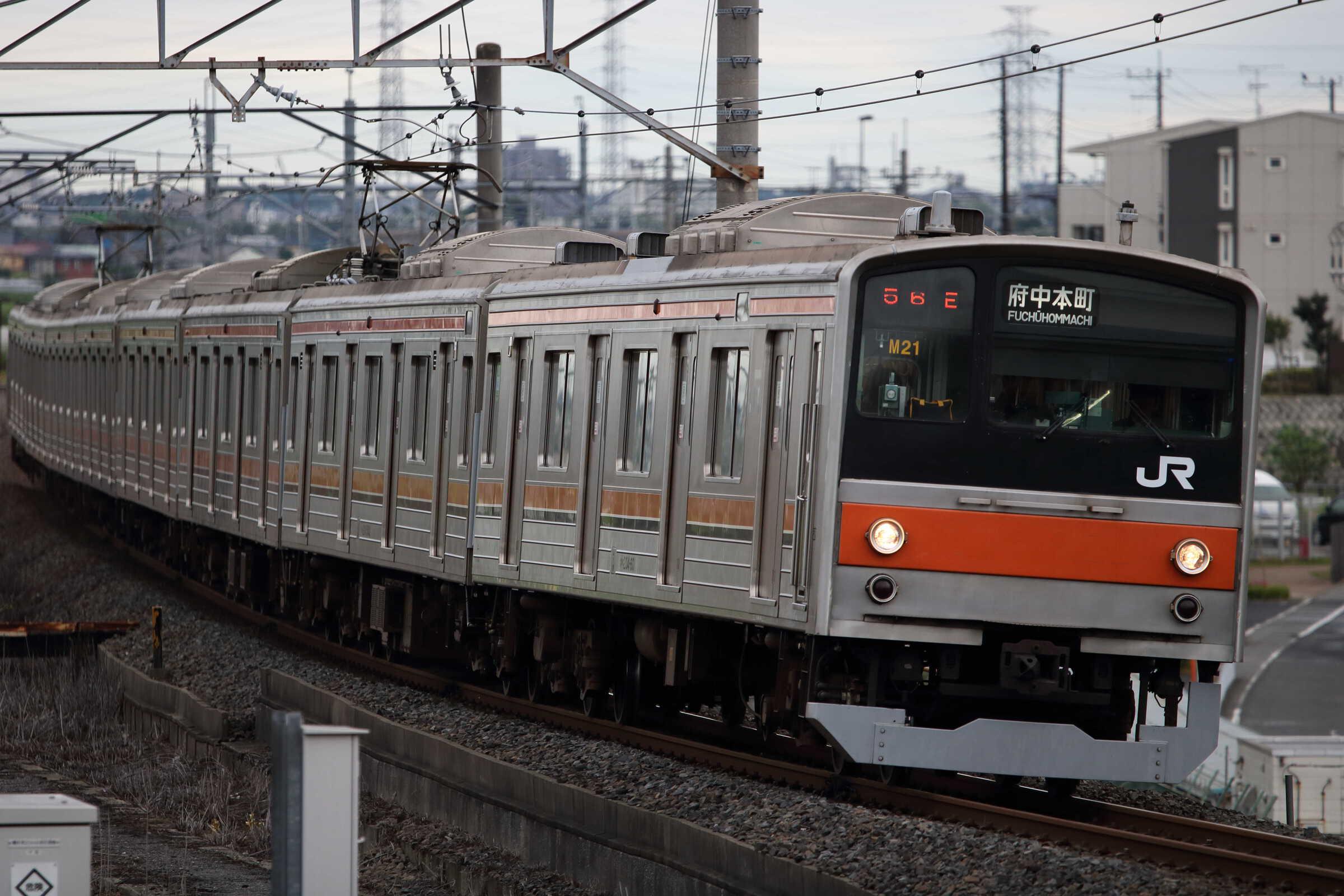 1456E 205系 千ケヨM21編成