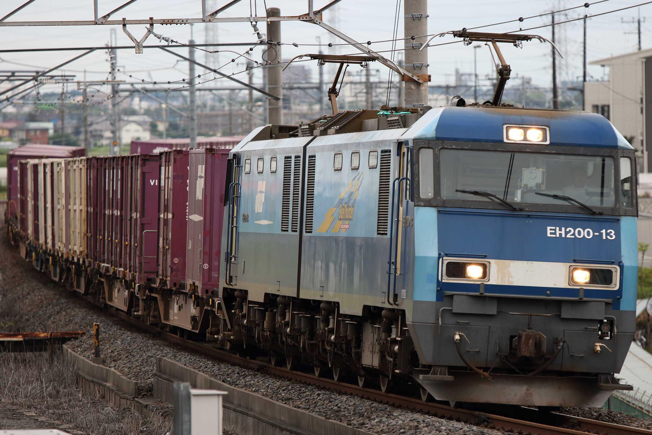 89列車 EH200-13①[高]+コキ