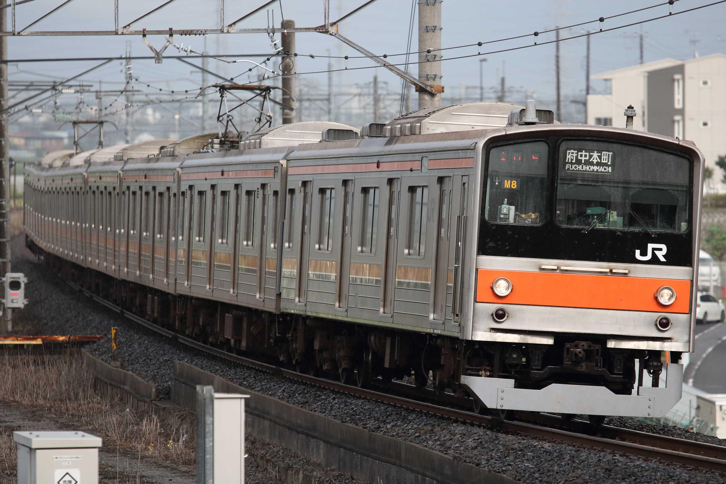 1510E 205系 千ケヨM8編成
