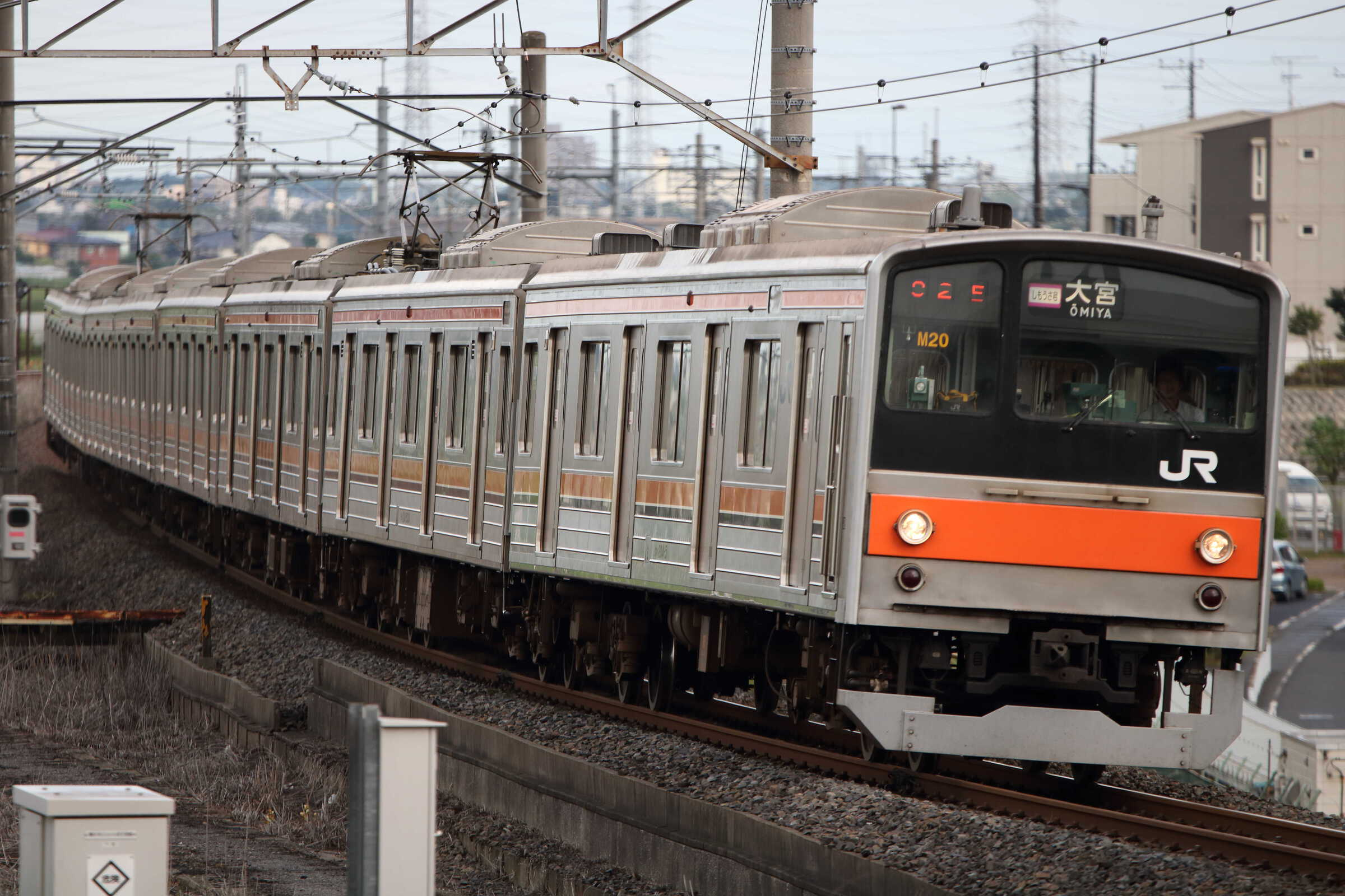 1602E 205系 千ケヨM20編成