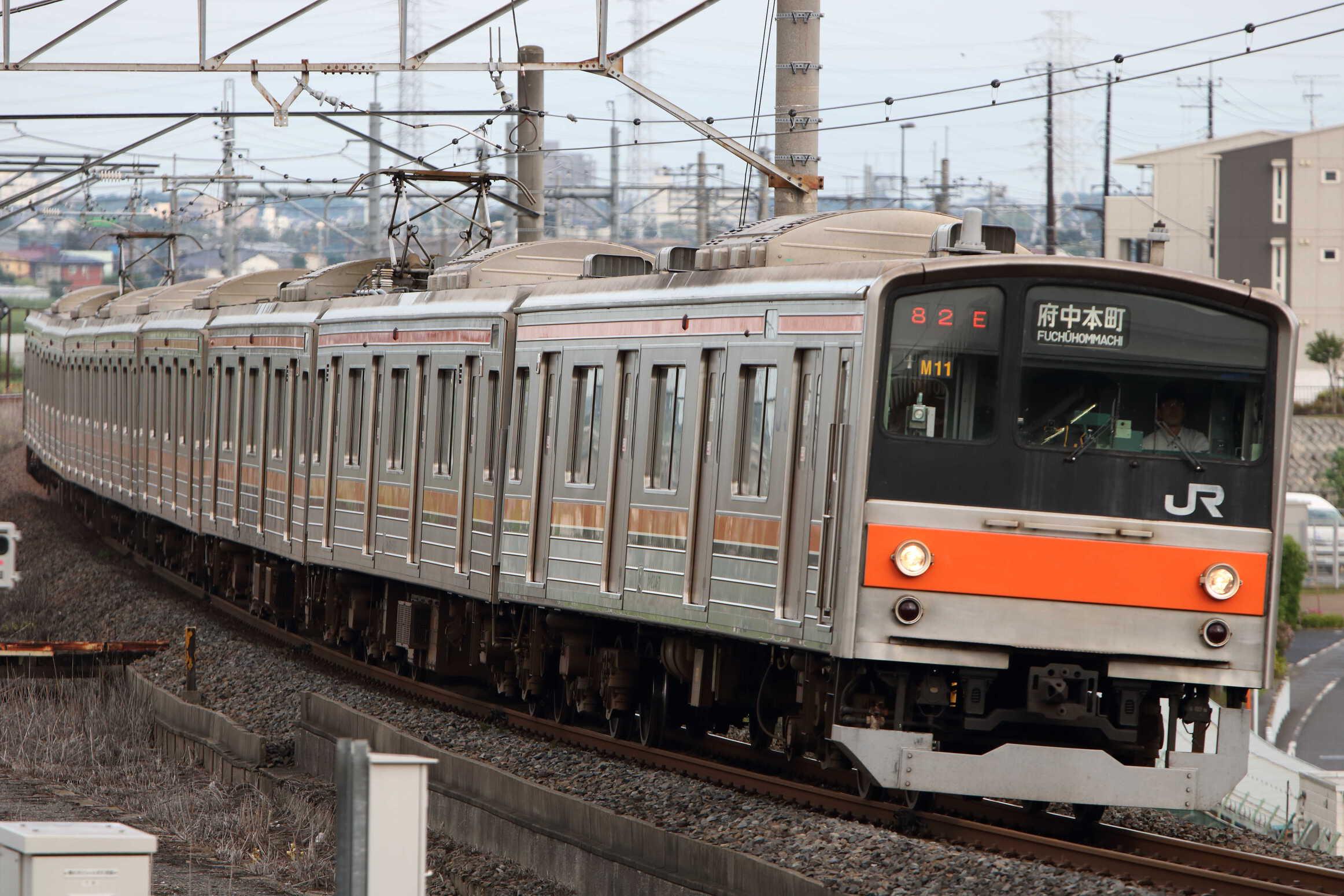 1582E 205系 千ケヨM11編成