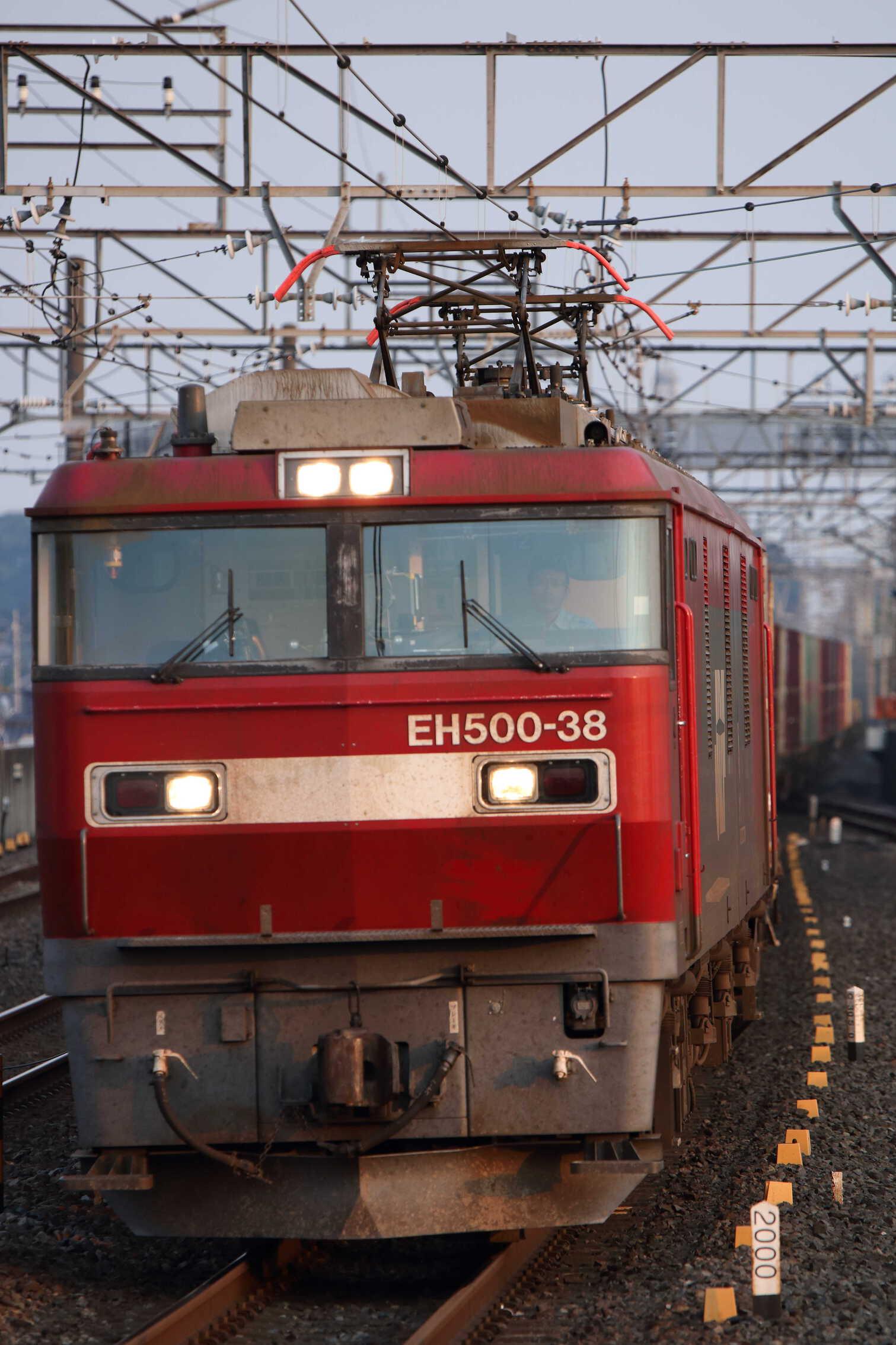 3057列車 EH500-38②[仙貨]+コキ