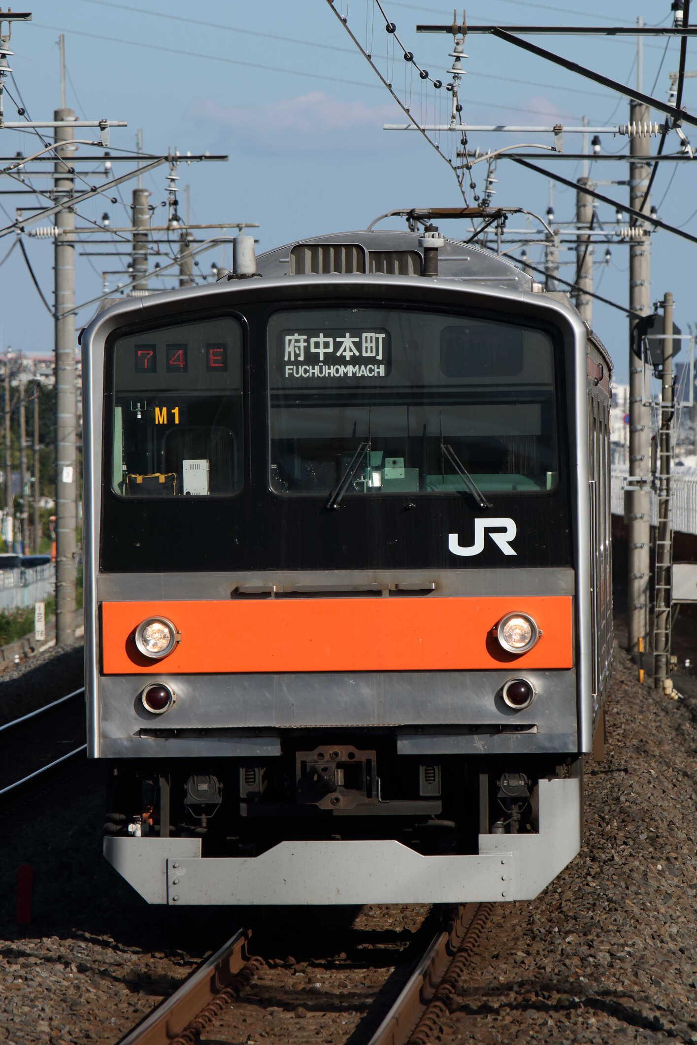 1574E 205系 千ケヨM1編成