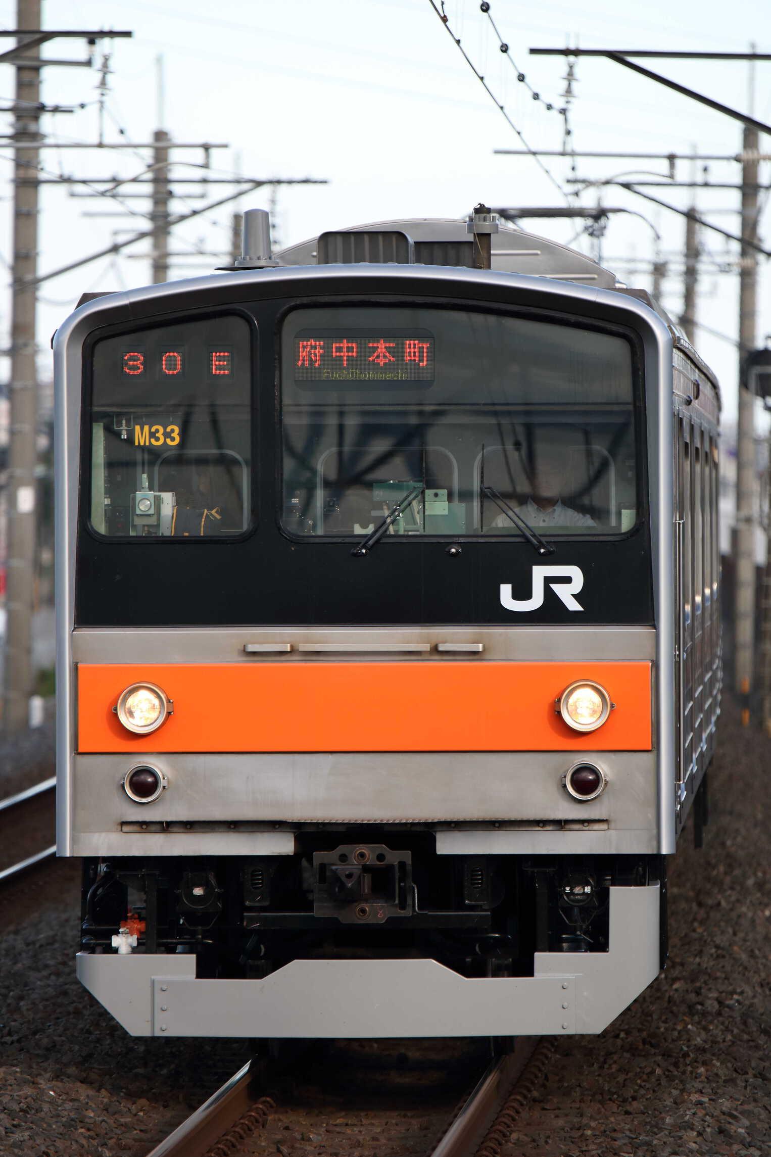 1630E 205系 千ケヨM33編成