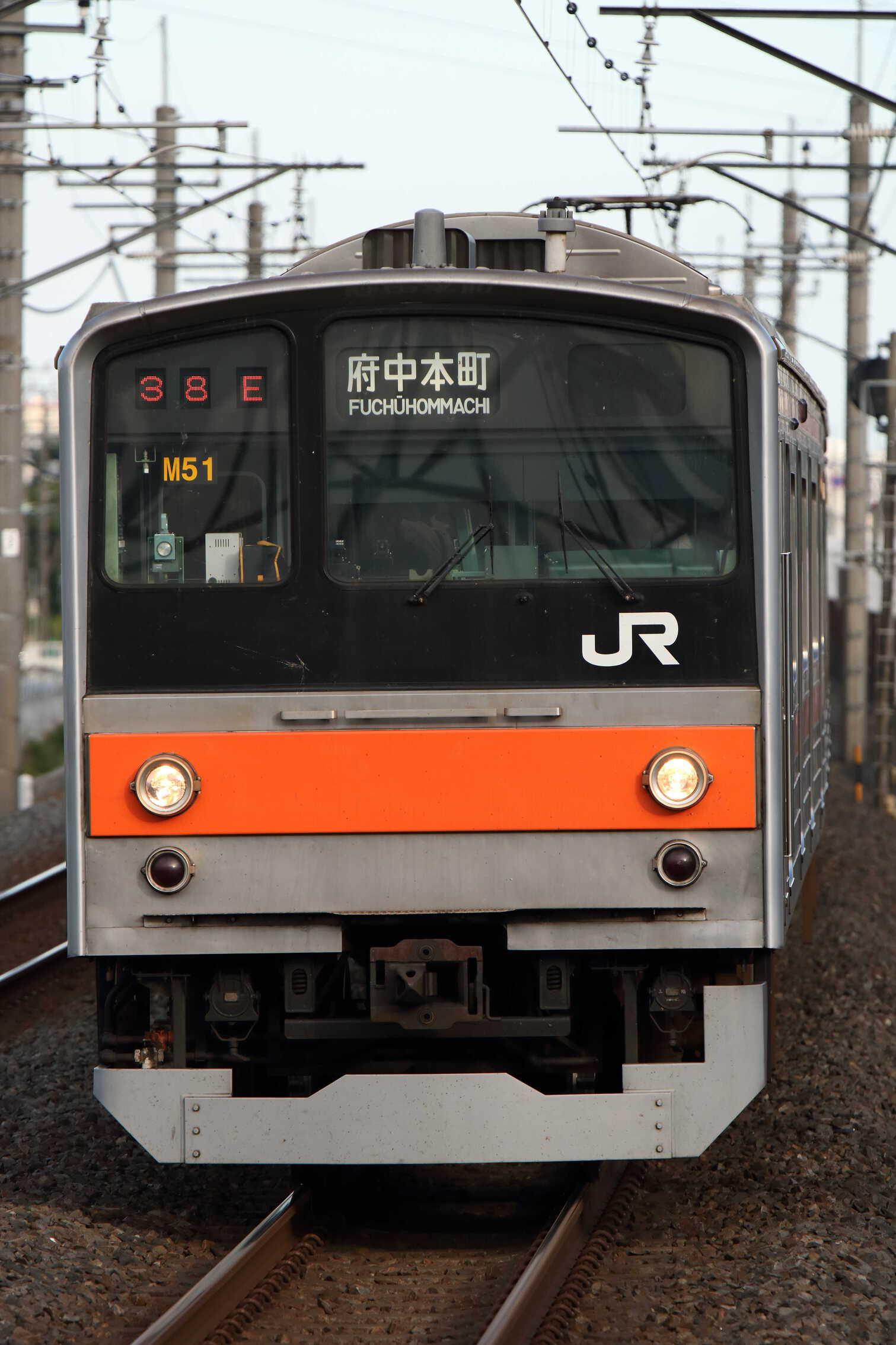 1638E 205系 千ケヨM51編成
