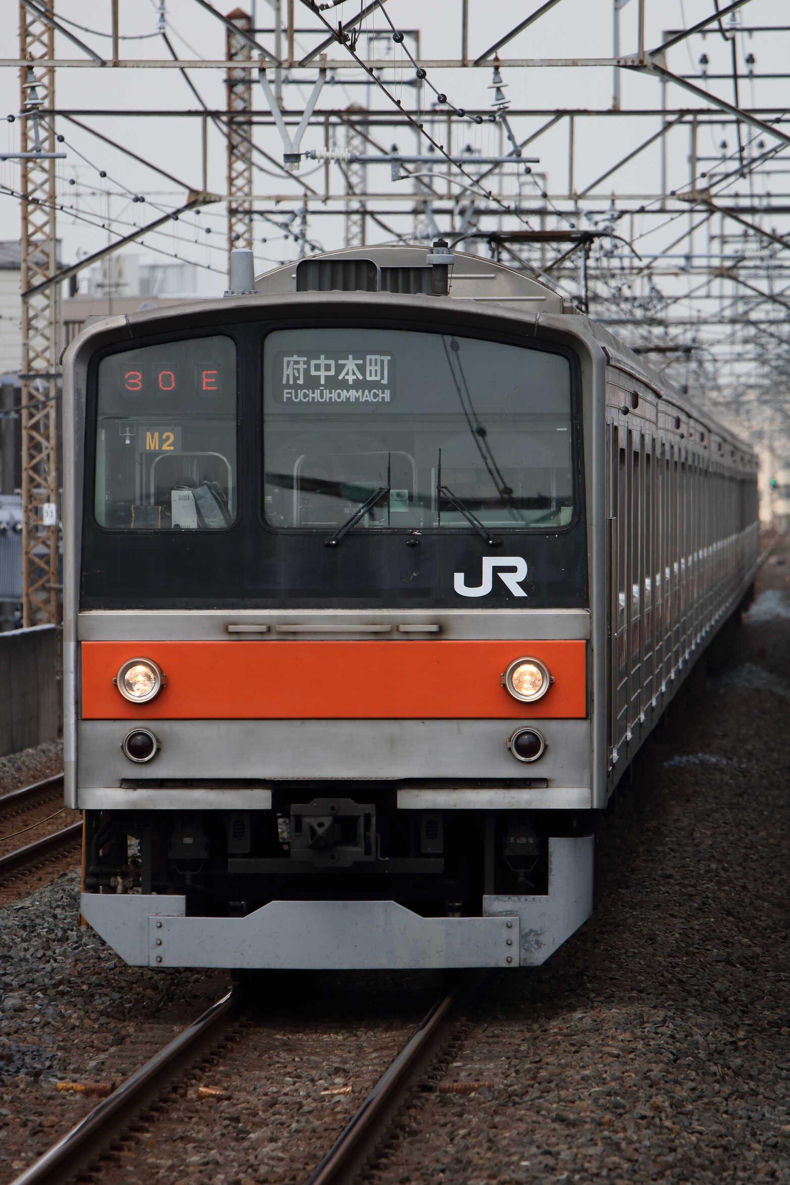 1230E 205系 千ケヨM2編成
