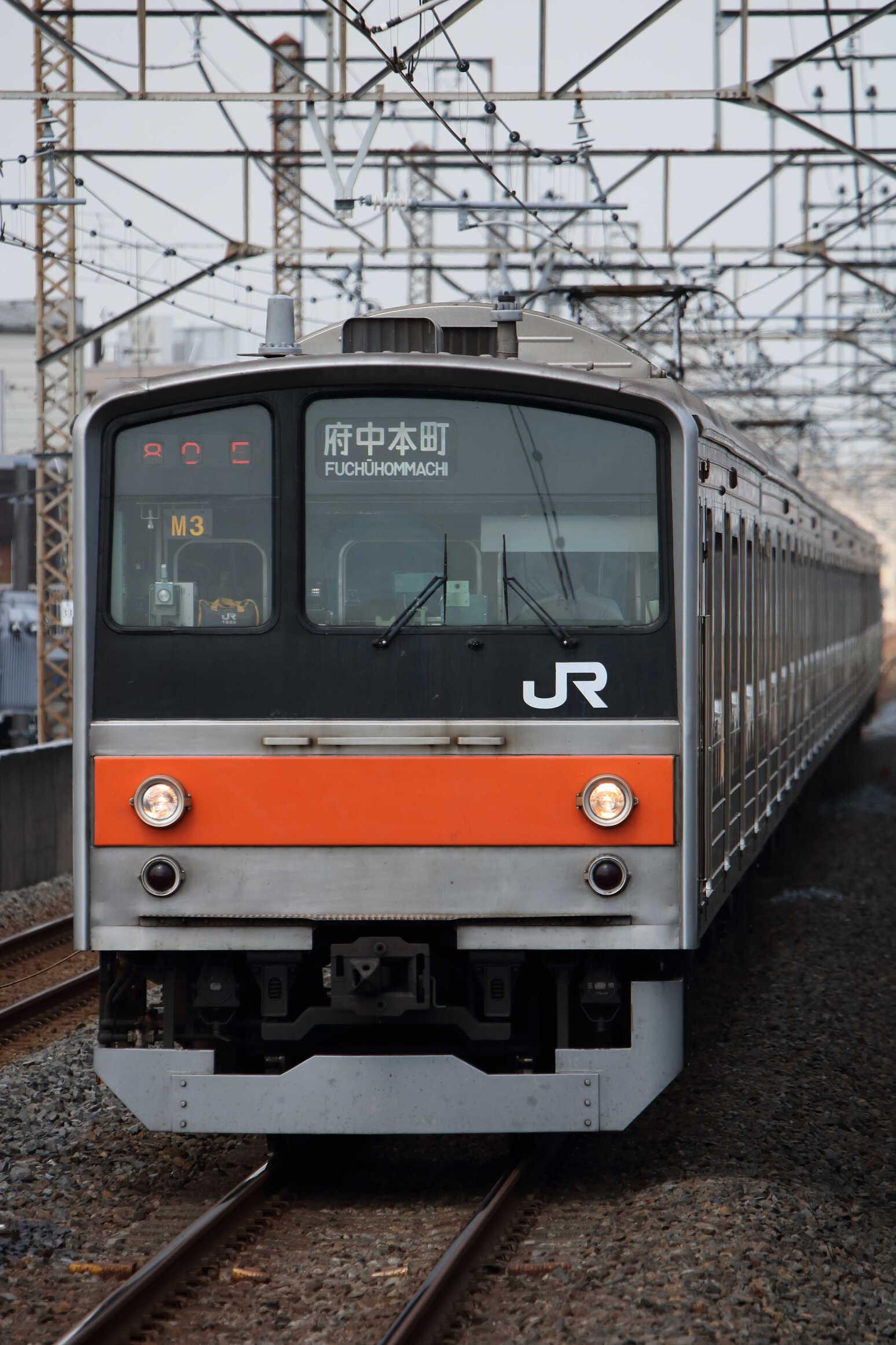1280E 205系 千ケヨM3編成