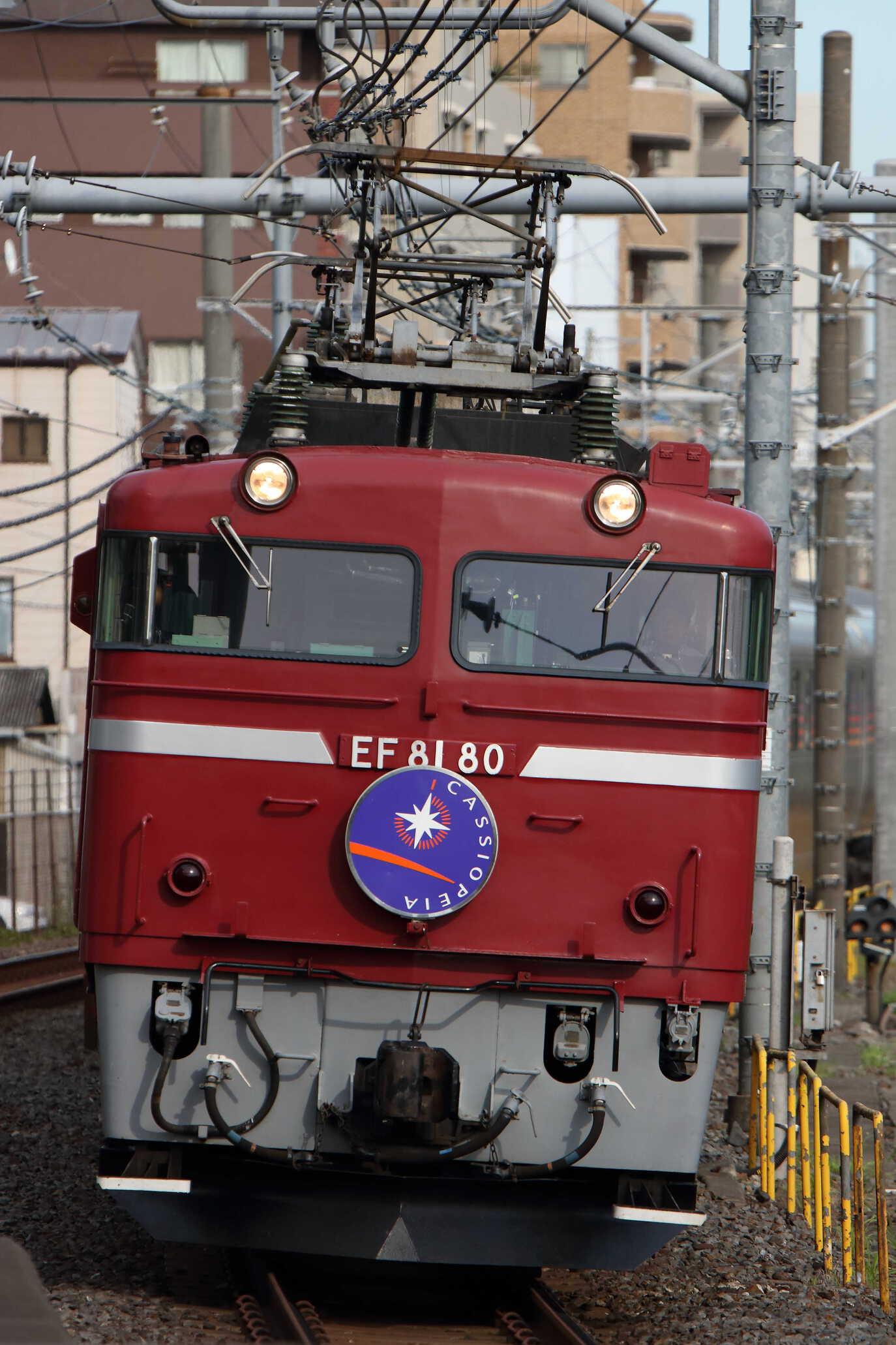 9011列車 団臨 カシオペア紀行 EF81-80①[田]+E26系 東オク車12両