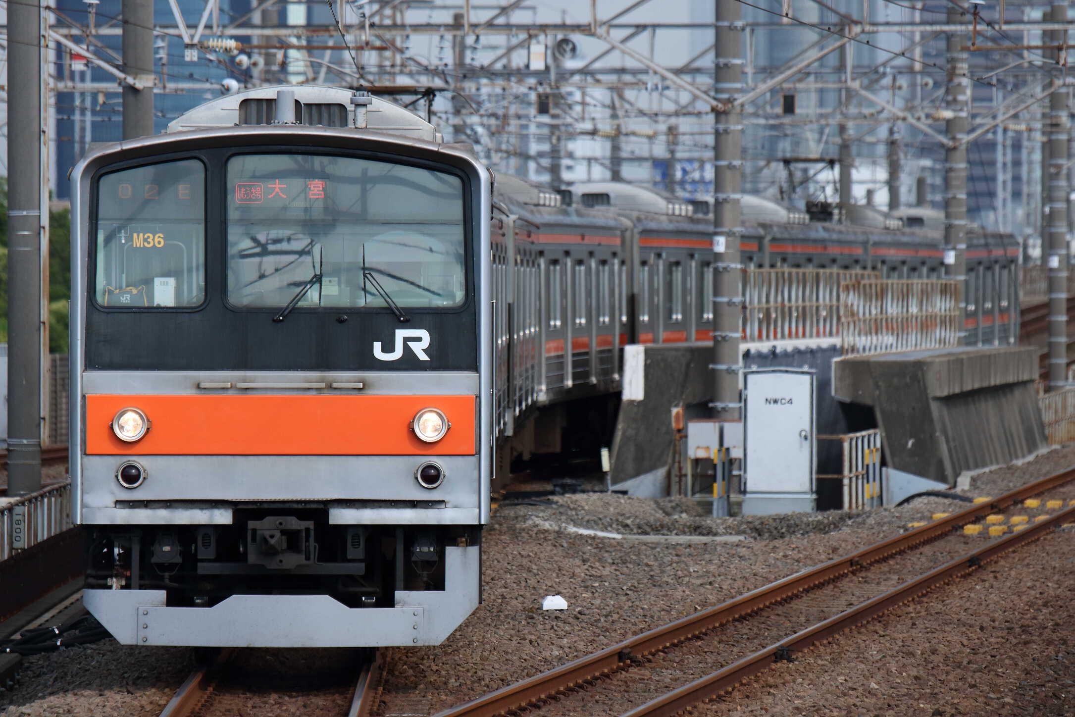 1502E 205系 千ケヨM36編成