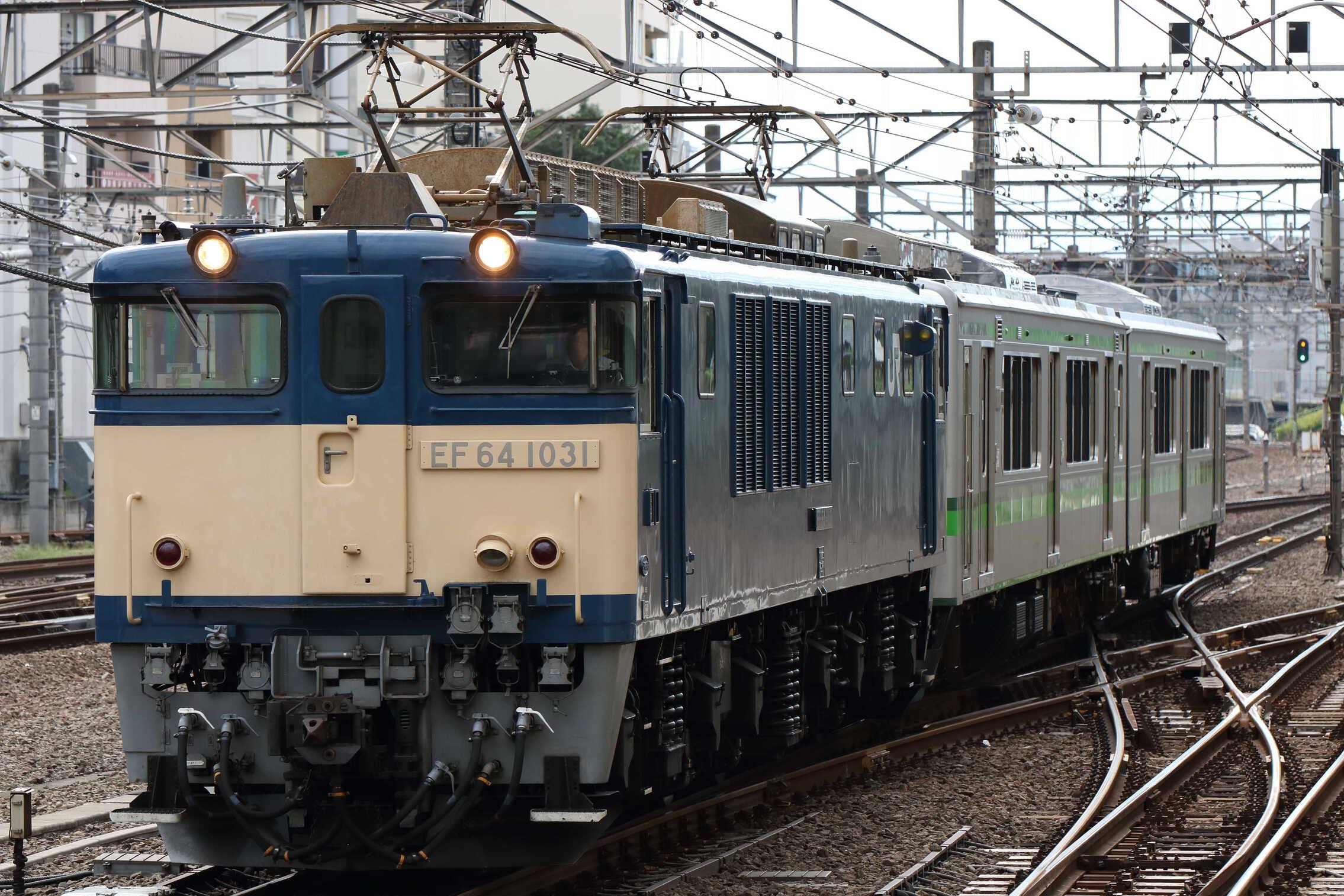 配9565列車 NN出場配給 EF64-1031①[長岡]+E127系 新ニイV12編成