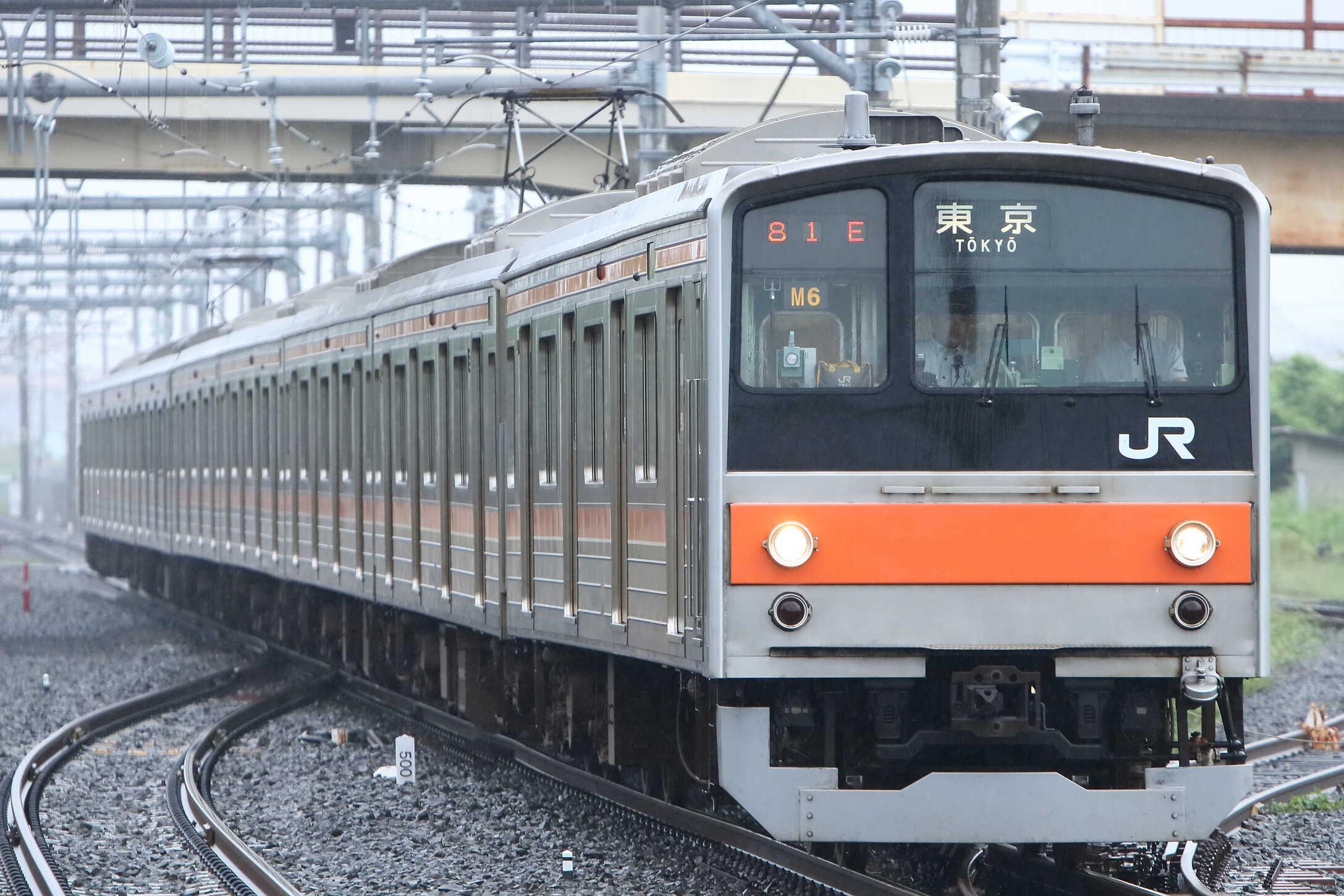 1581E 205系 千ケヨM6編成