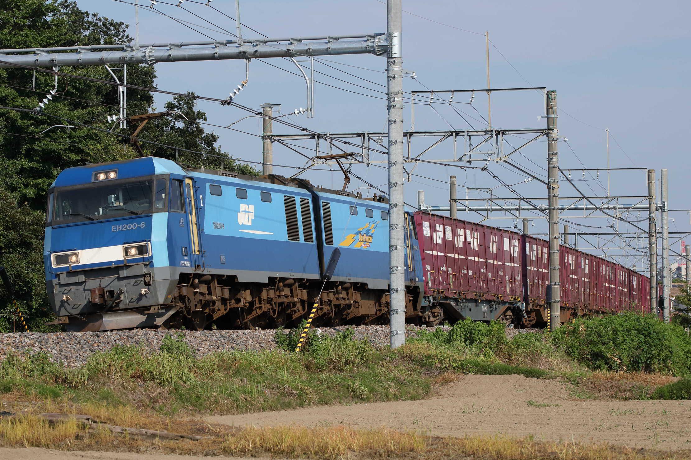 6087列車 EH200-6[高]+コキ