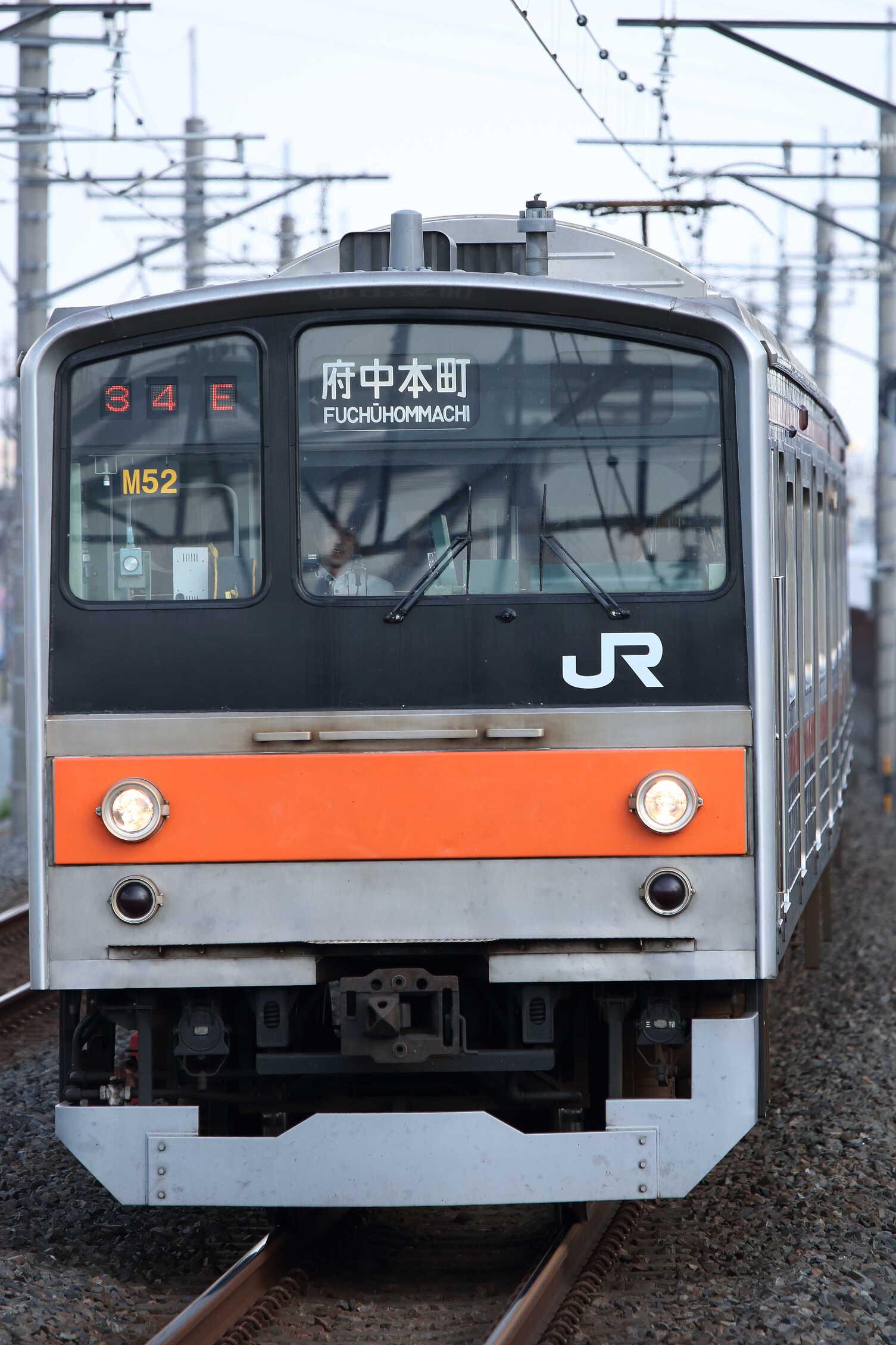 1434E 205系 千ケヨM52編成