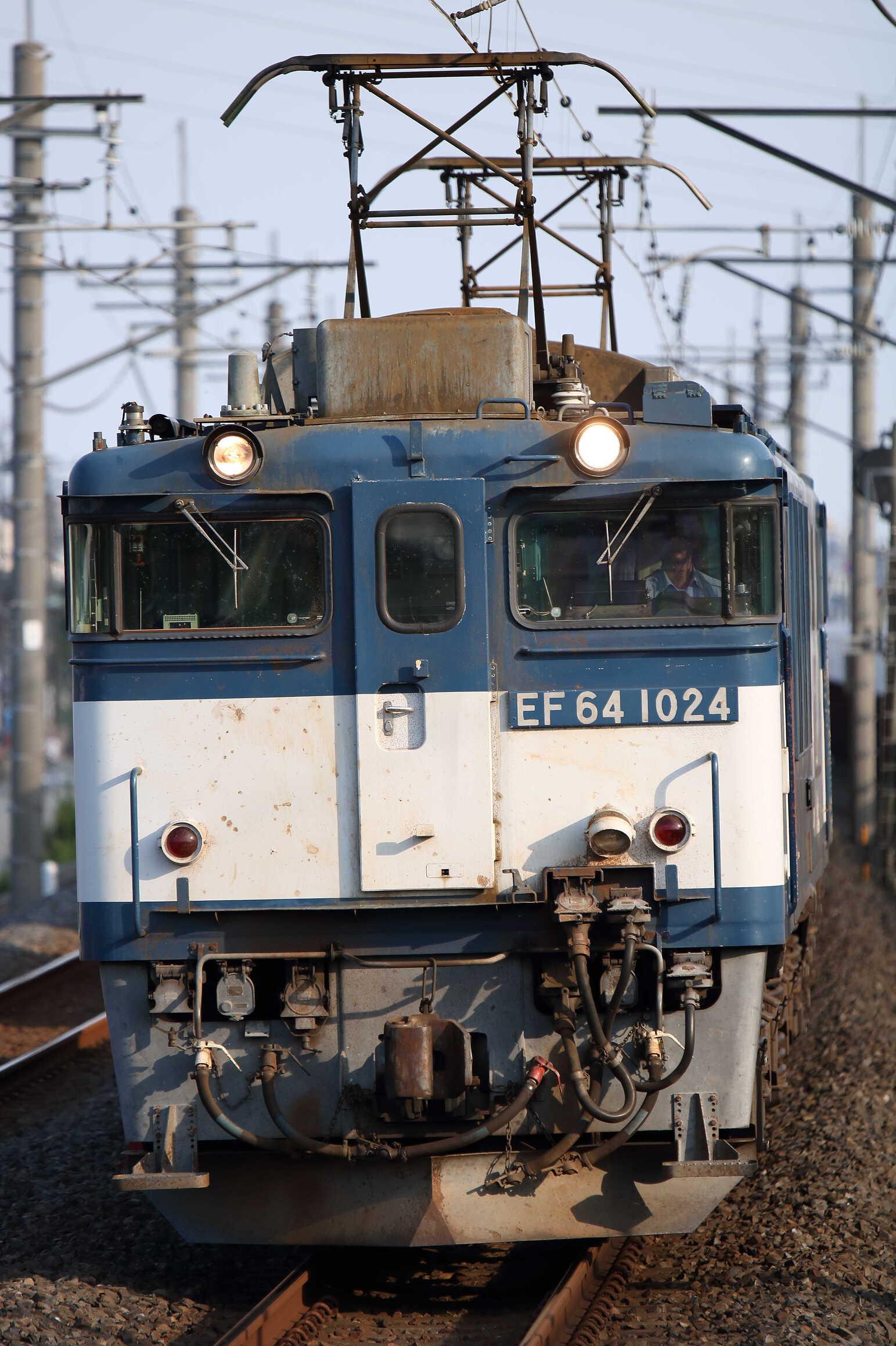 1094列車 EF64-1024①[愛]+コキ