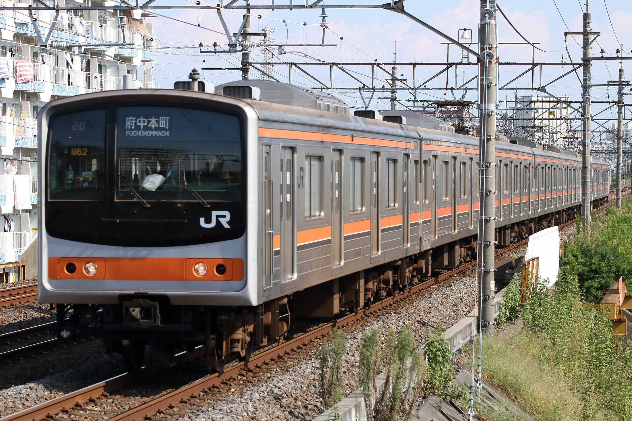 1420E 205系 千ケヨM62編成