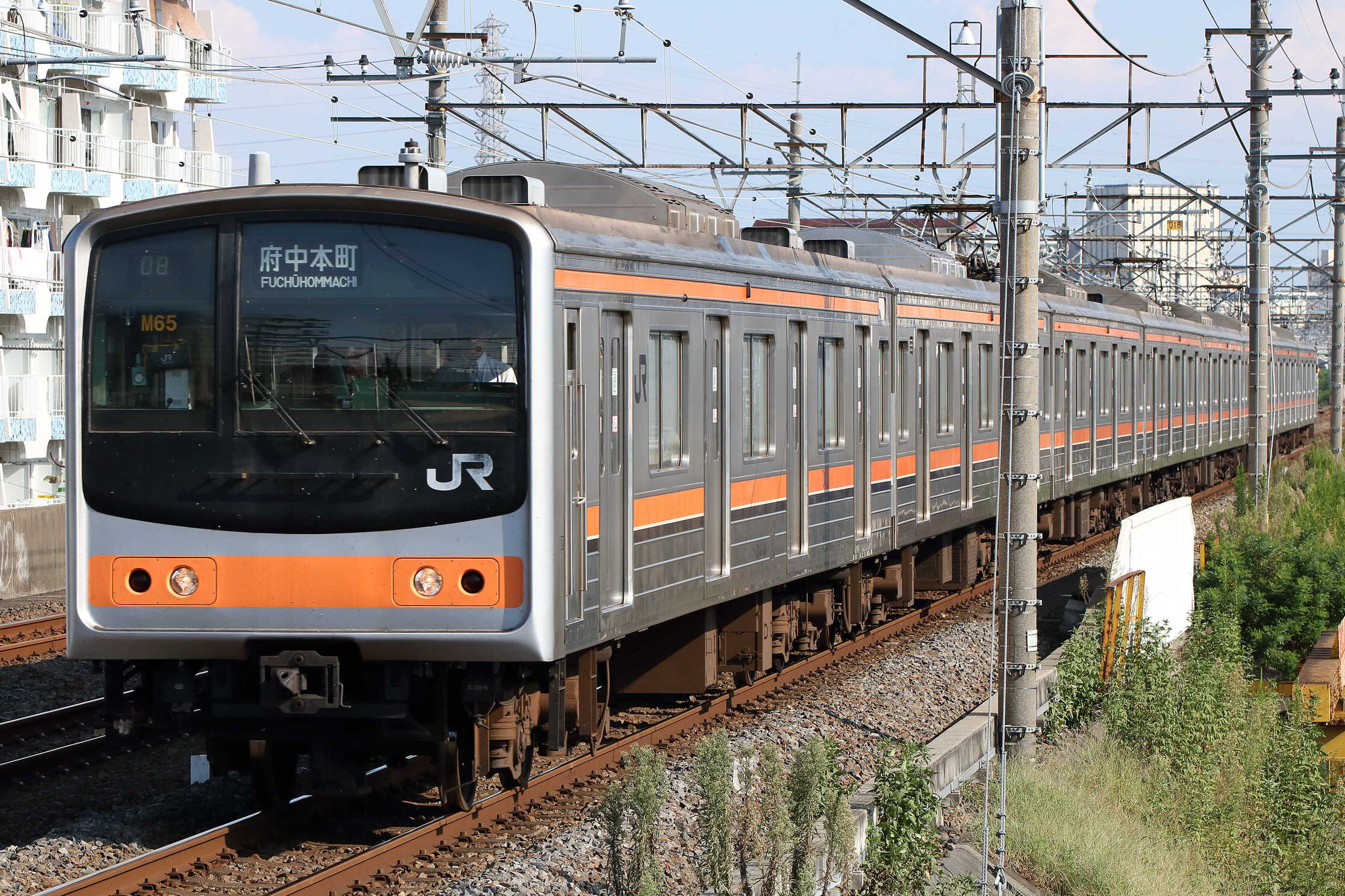 1408E 205系 千ケヨM65編成