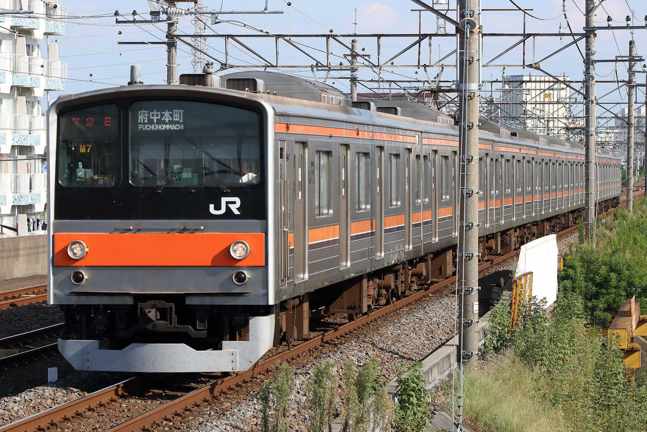 1472E 205系 千ケヨM7編成