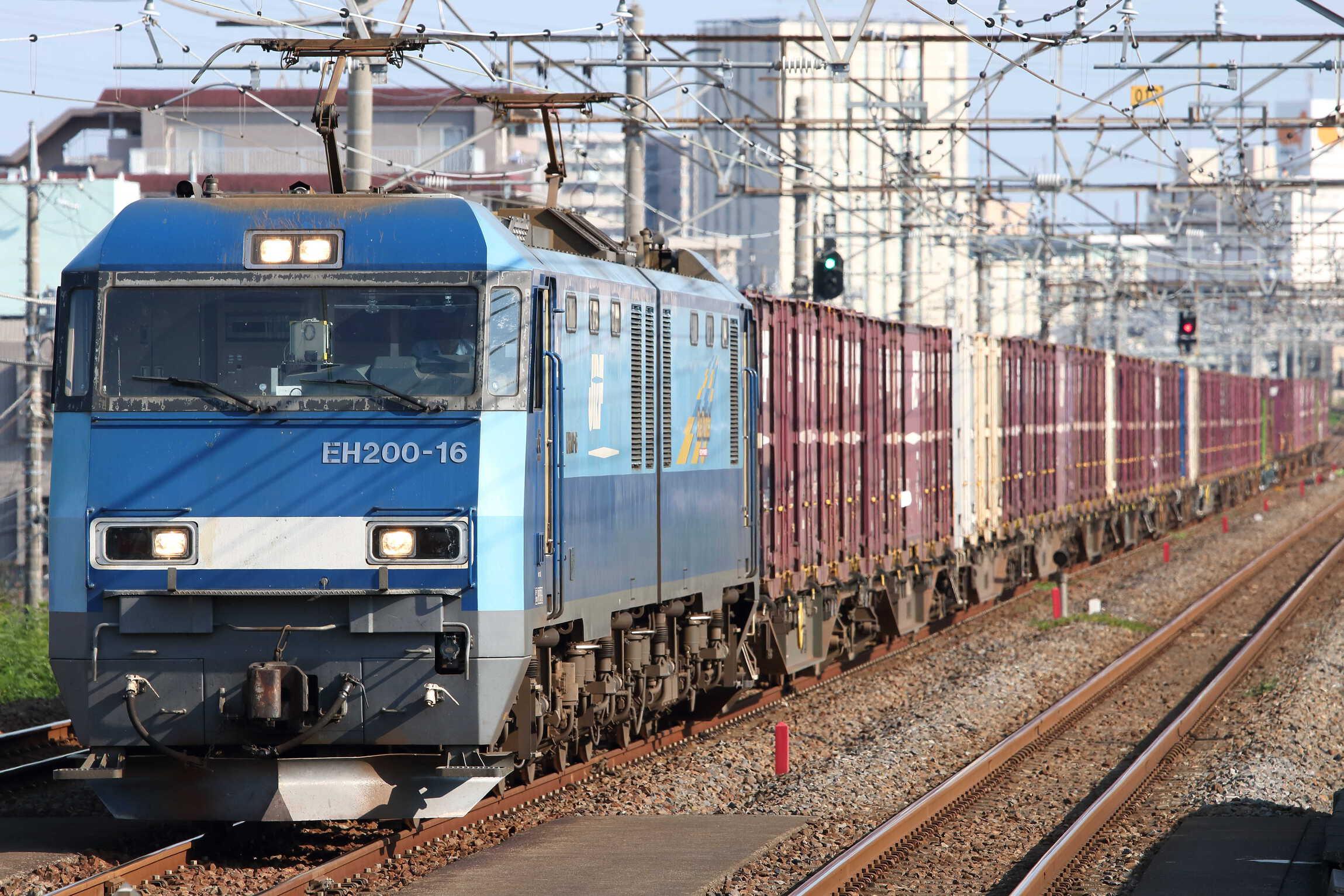 89列車 EH200-16②[高]+コキ