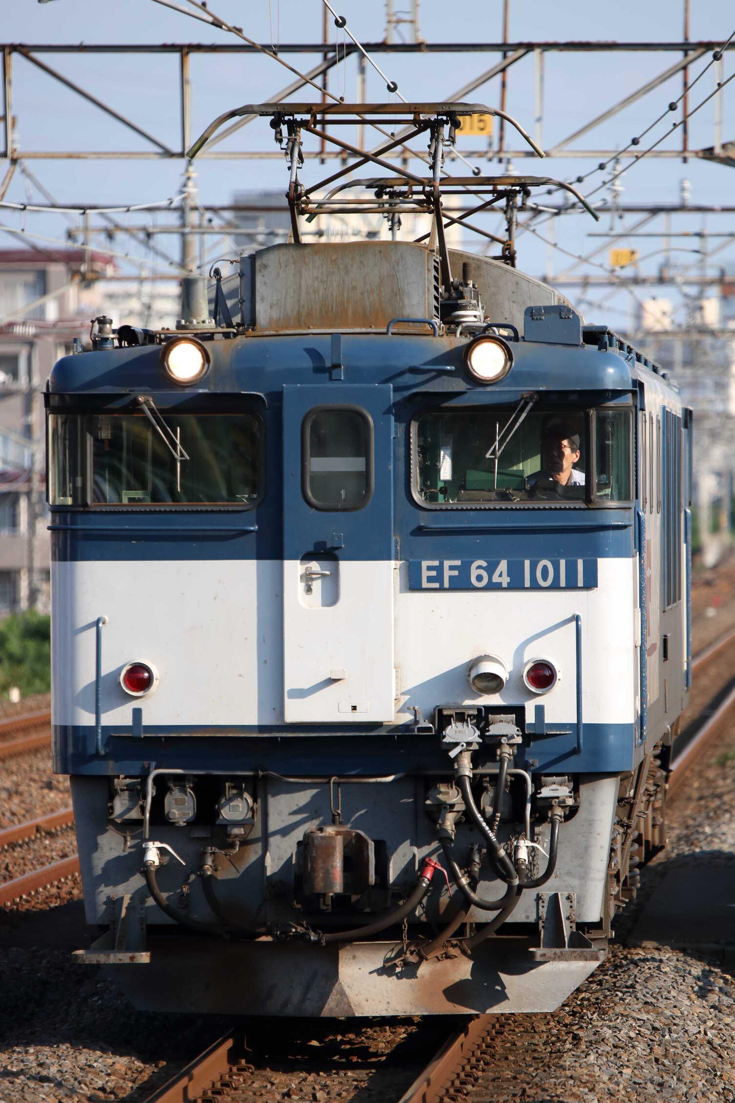 1094列車(列車種別変更 : 単機) EF64-1011②[愛]