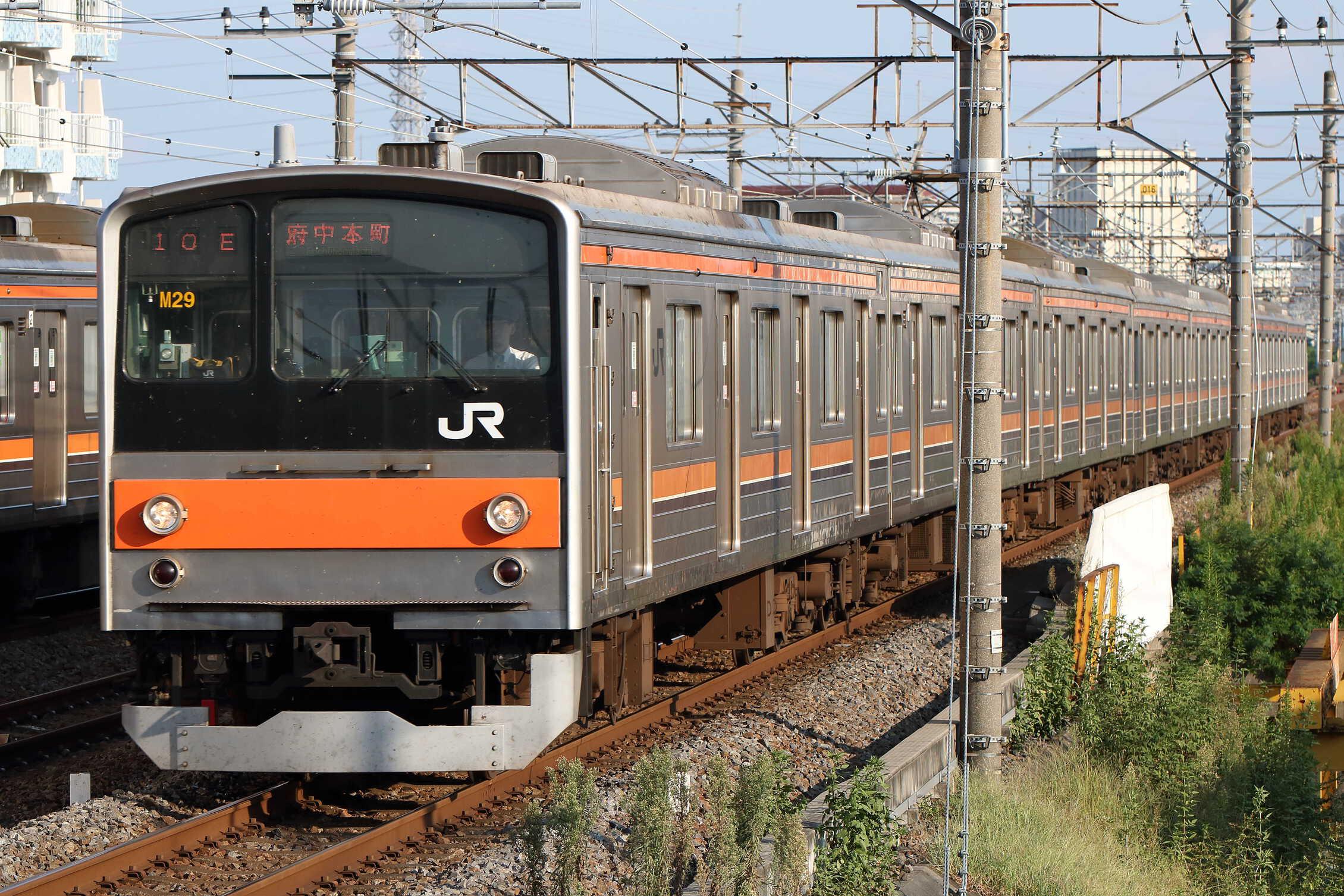 1510E 205系 千ケヨM29編成
