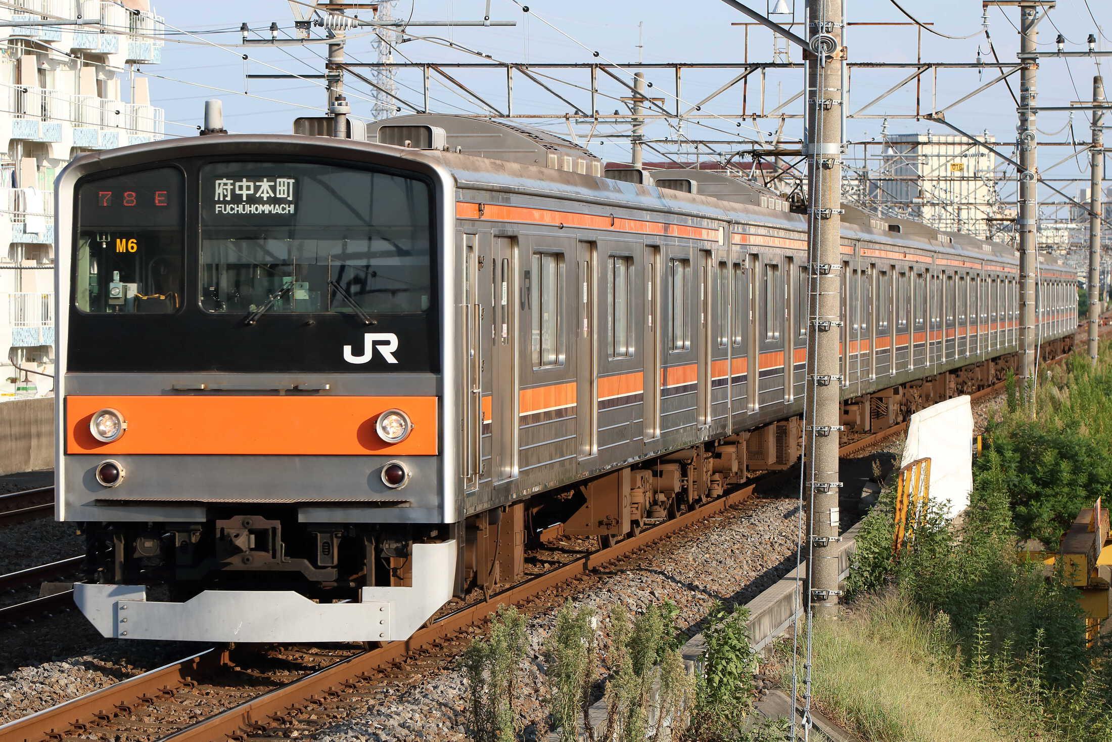 1578E 205系 千ケヨM6編成