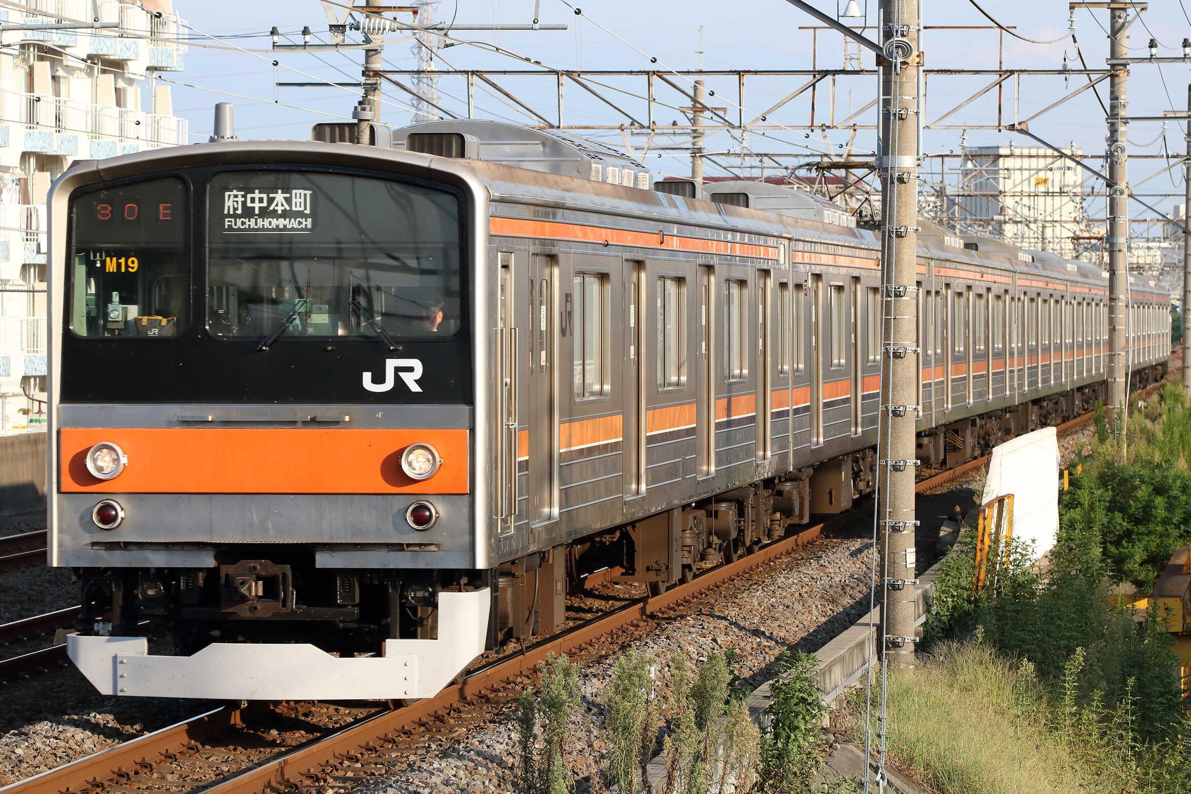 1530E 205系 千ケヨM19編成