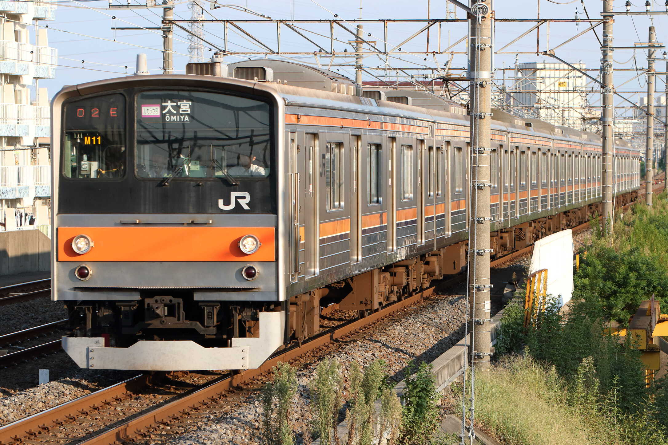 1602E 205系 千ケヨM11編成