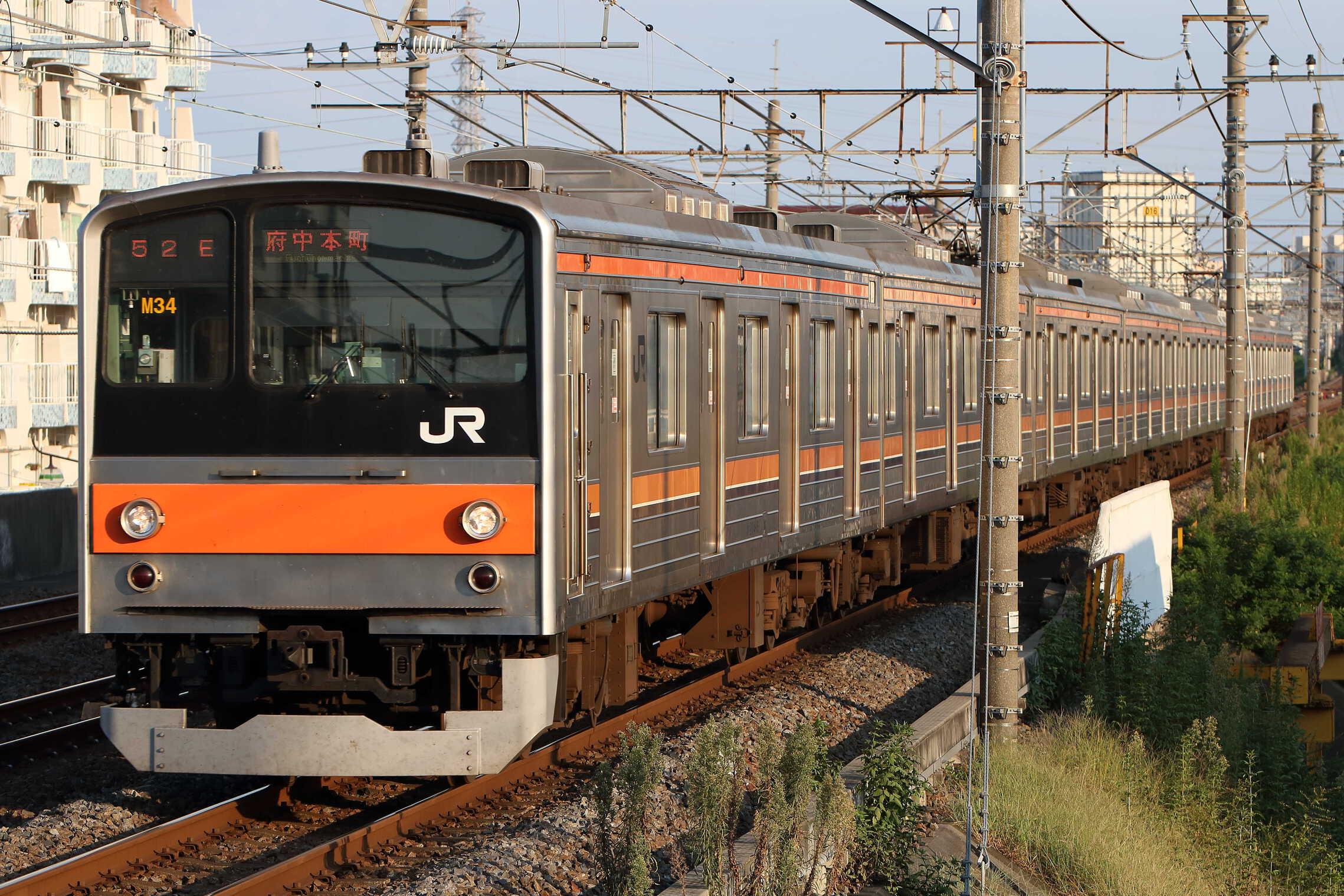 1652E 205系 千ケヨM34編成