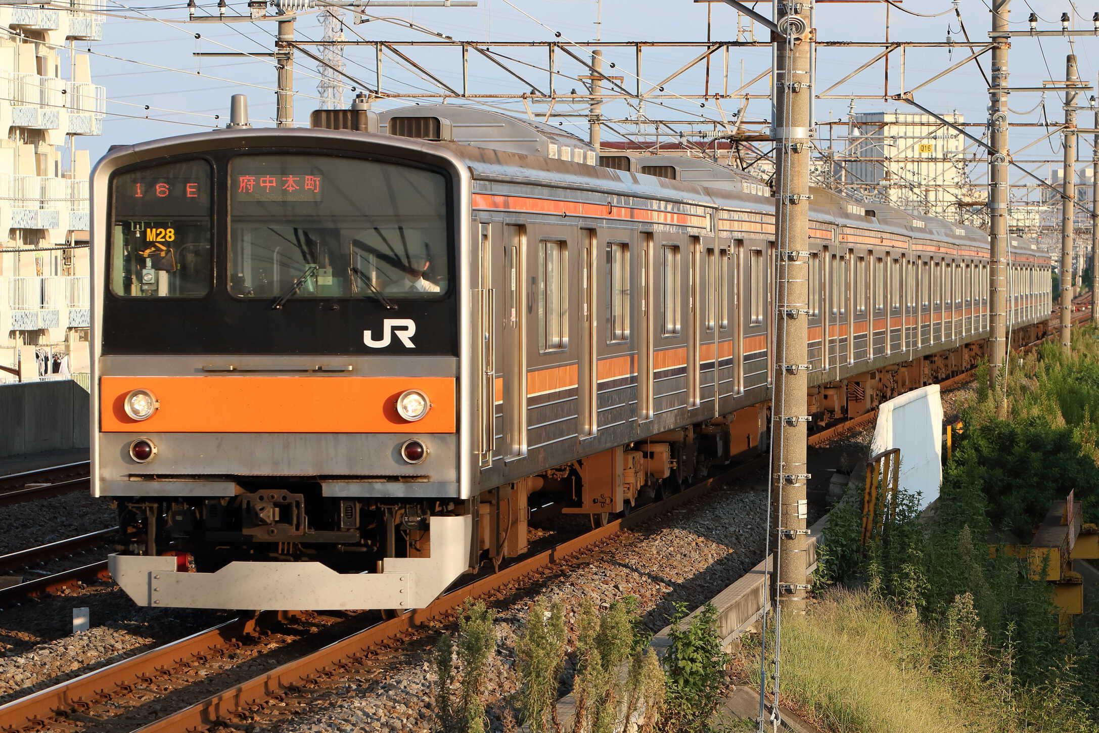 1616E 205系 千ケヨM28編成