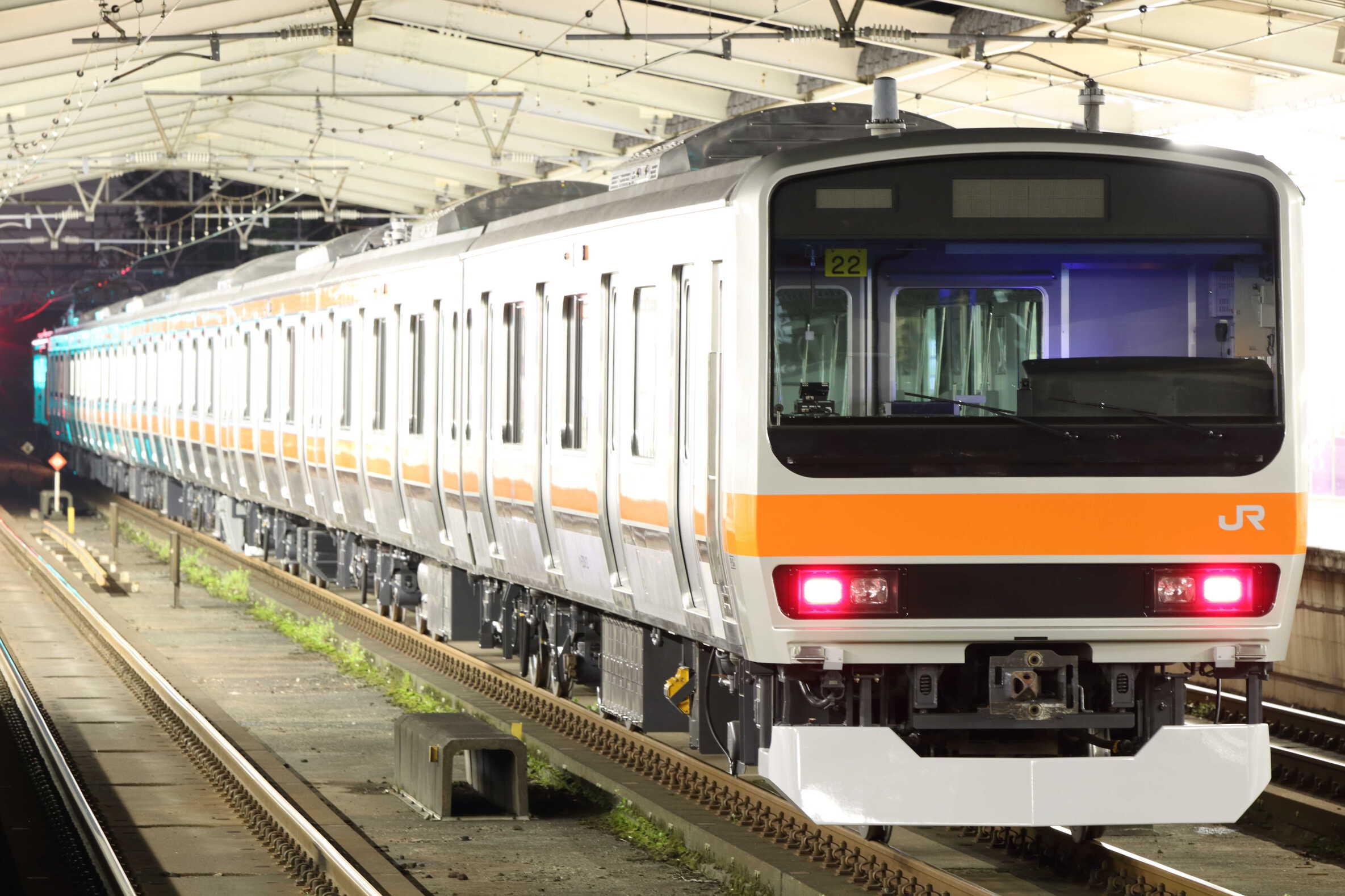 配9835列車 AT出場配給 EF81-140①[長岡]+E231系 千ケヨMU2編成(旧八ミツB22編成+八ミツB5編成)