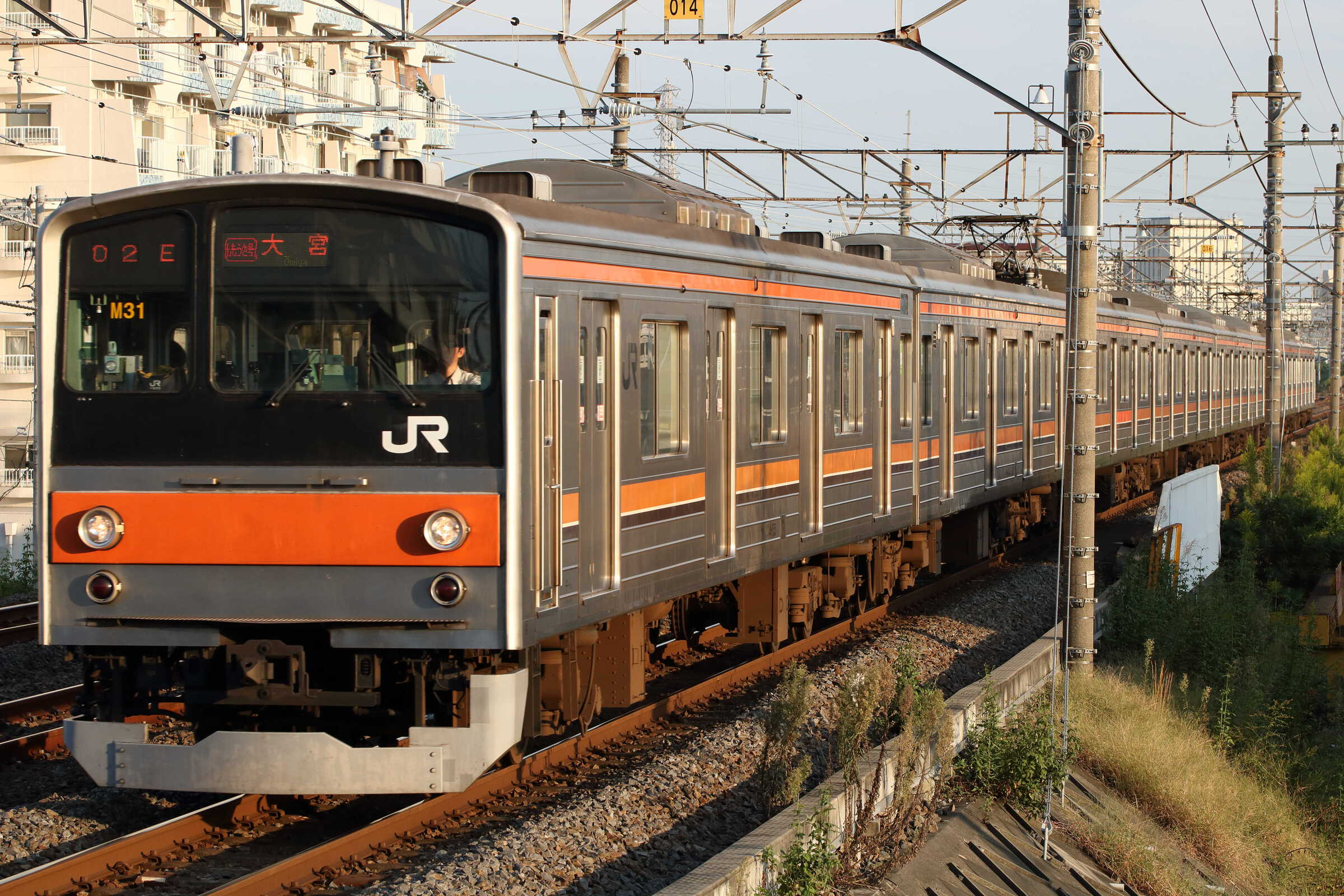 1602E 205系 千ケヨM31編成