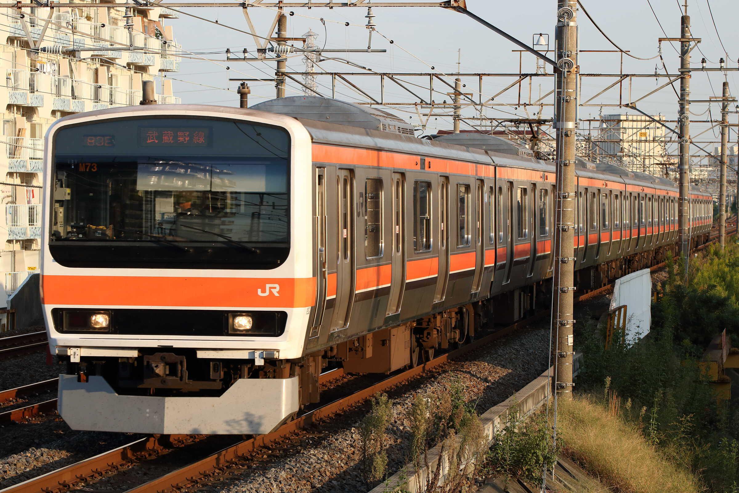 1582E 209系 千ケヨM73編成