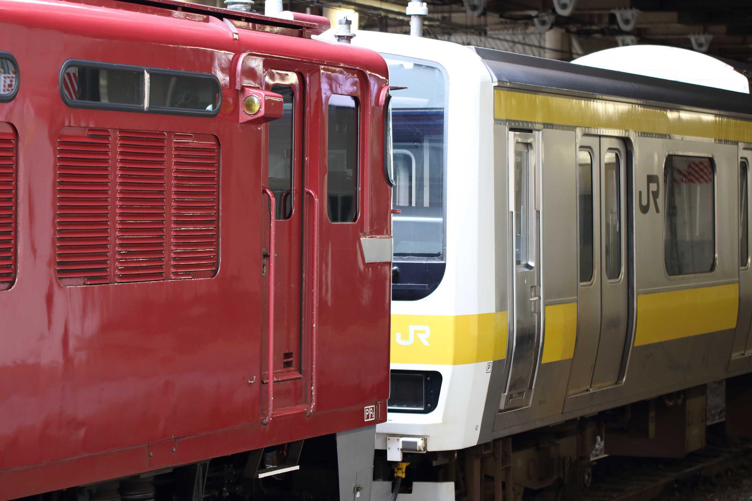 配9145列車 EF81-139②[田]+209系 八ミツC501編成