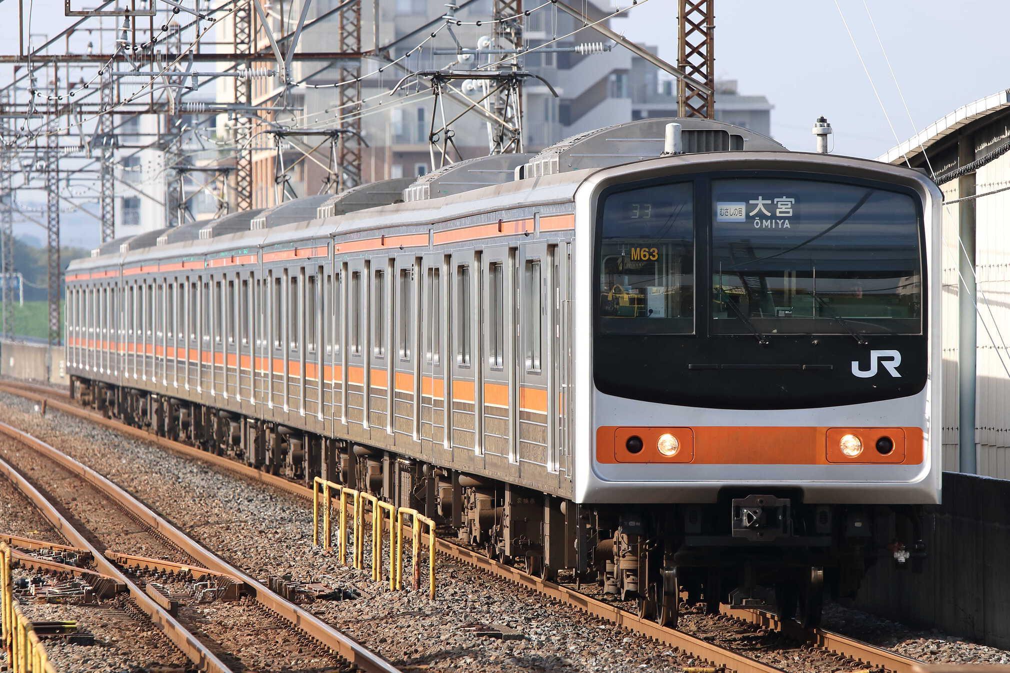 2633M 205系 千ケヨM63編成